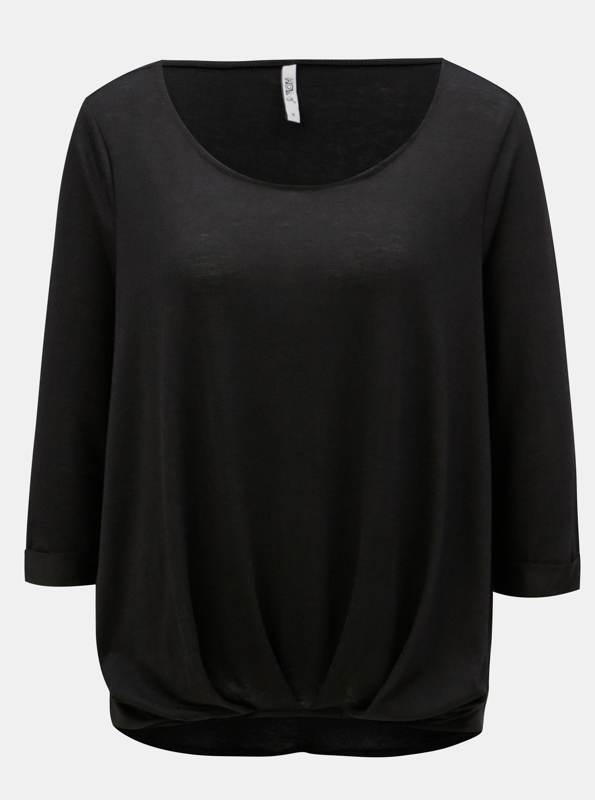 Čierne dámske tričko Haily´s Mara