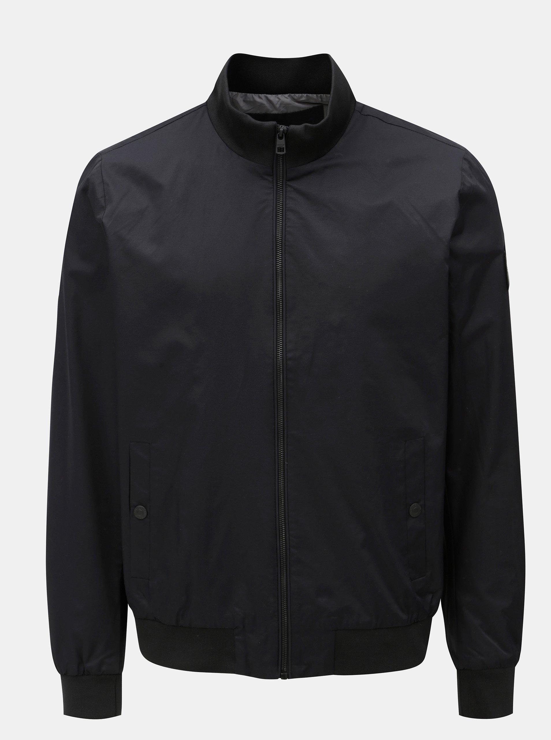 Fotografie Černý pánský bomber s nášivkou Calvin Klein Jeans