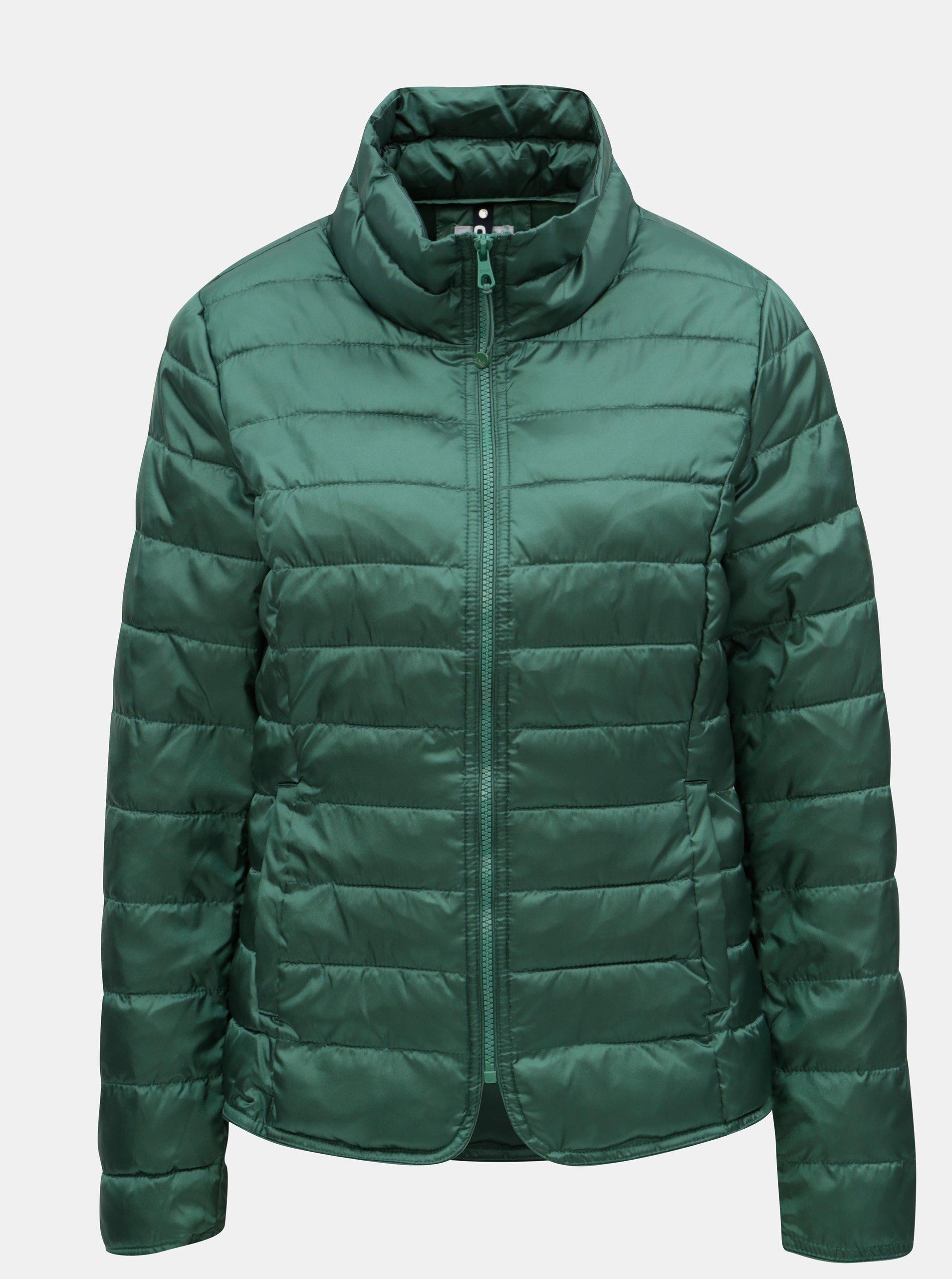 Zelená prošívaná bunda ONLY Tahoe