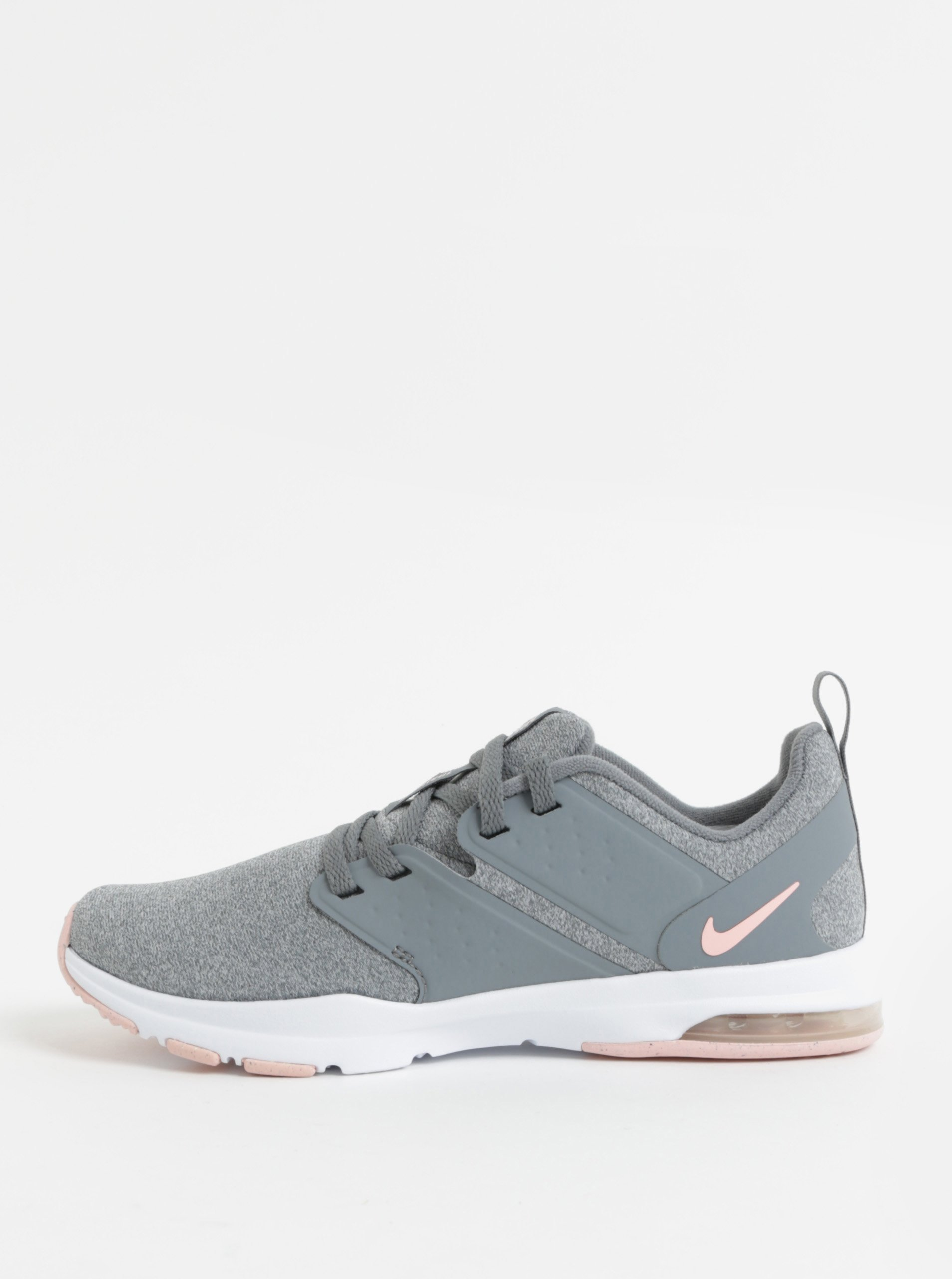 Sivé dámske melírované tenisky Nike Air Bella Training 23a46abe60d