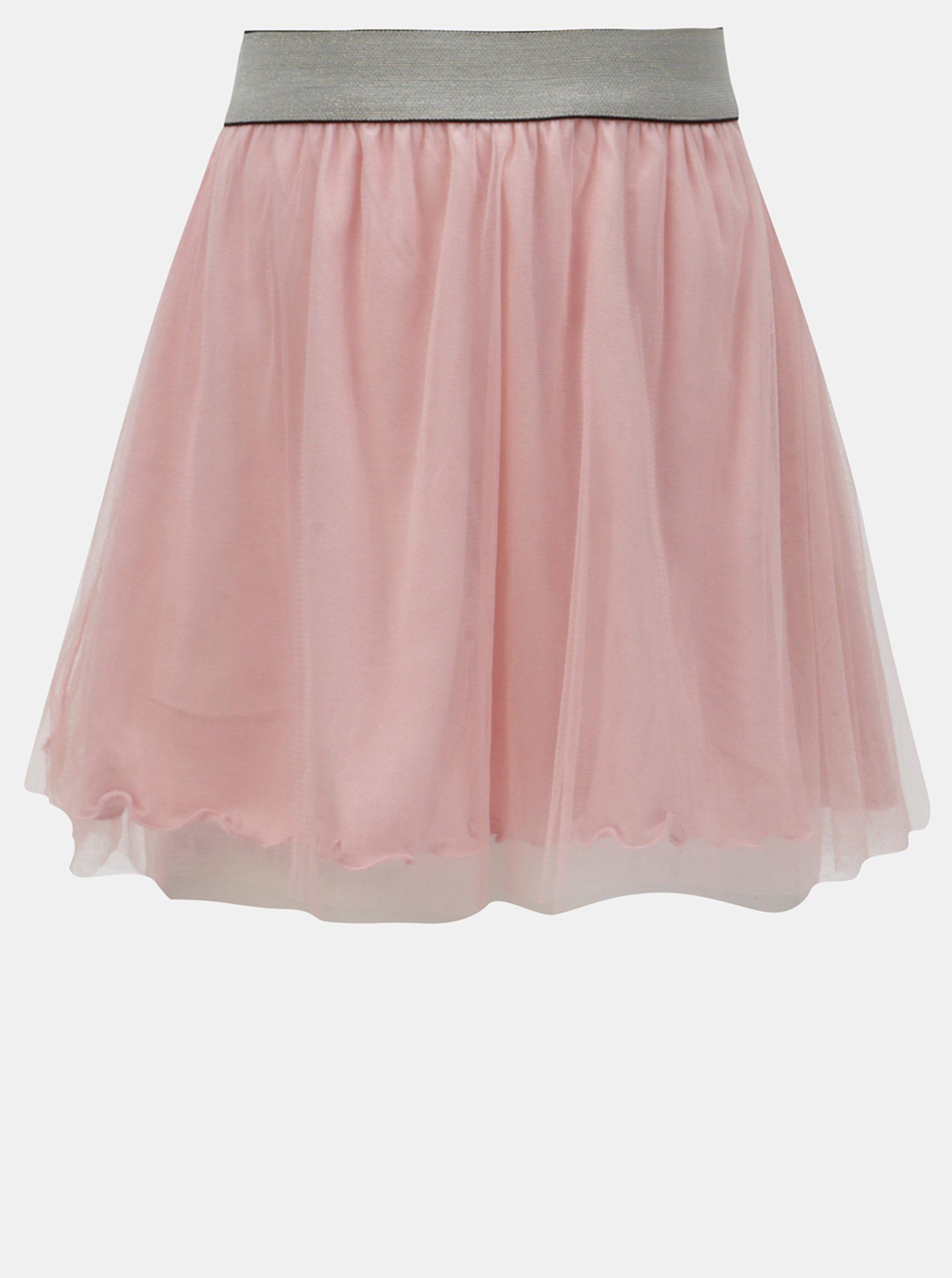 6cf48394298d Ružová tylová sukňa Blue Seven
