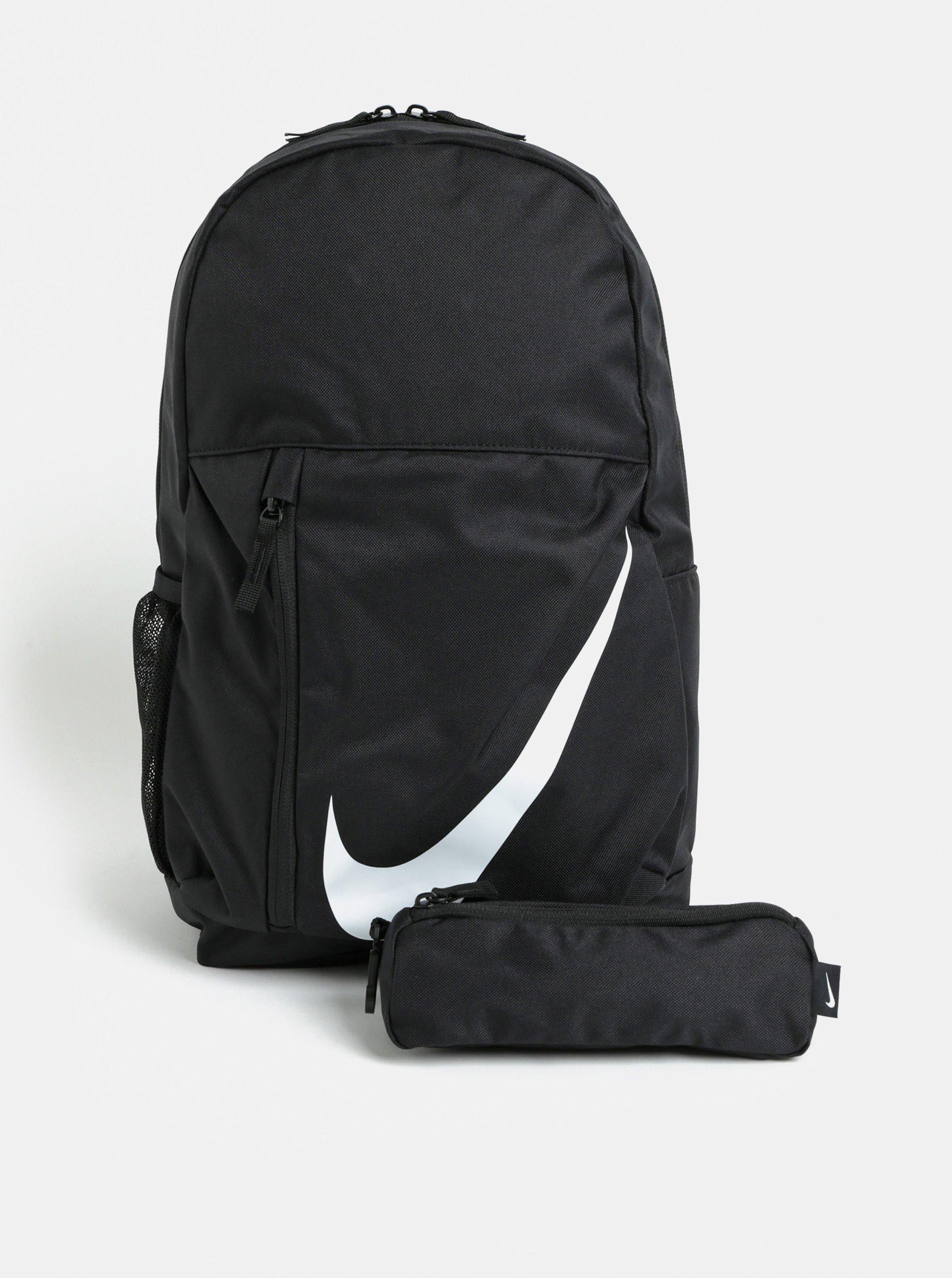 Černý batoh s penálem Nike Elemental 22 l