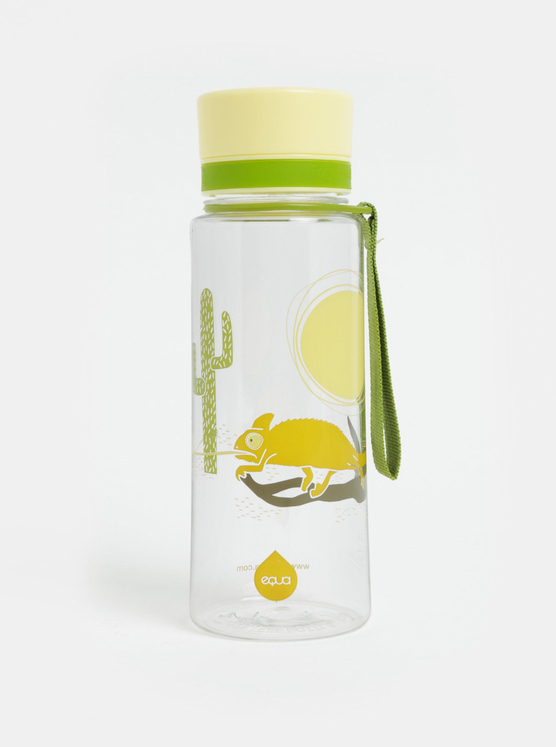 Plastová fľaša s motívom chameleóna EQUA 600 ml