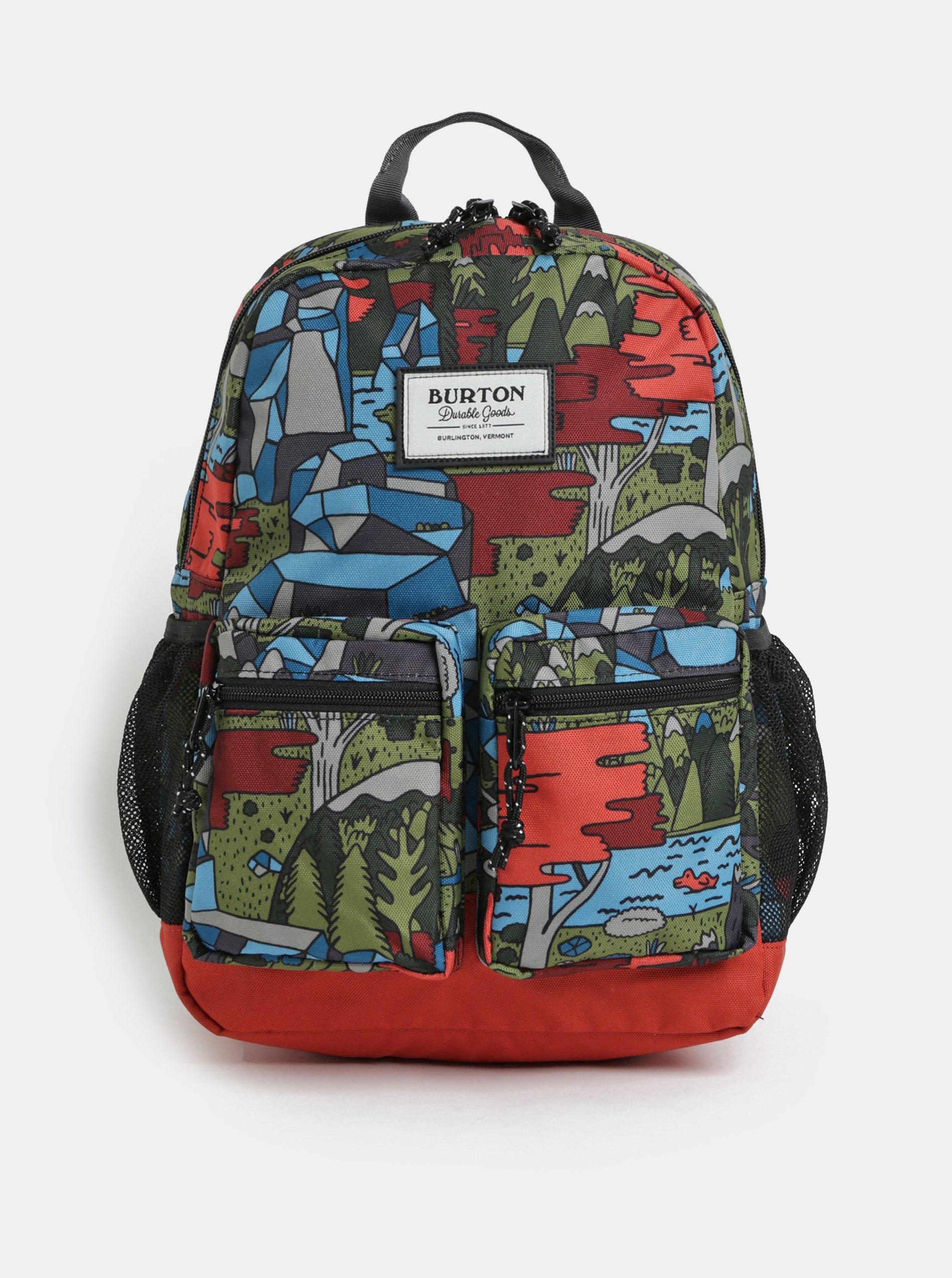 febbd5391fd Oranžovo-zelený klučičí batoh batoh Burton Gromlet 15 l