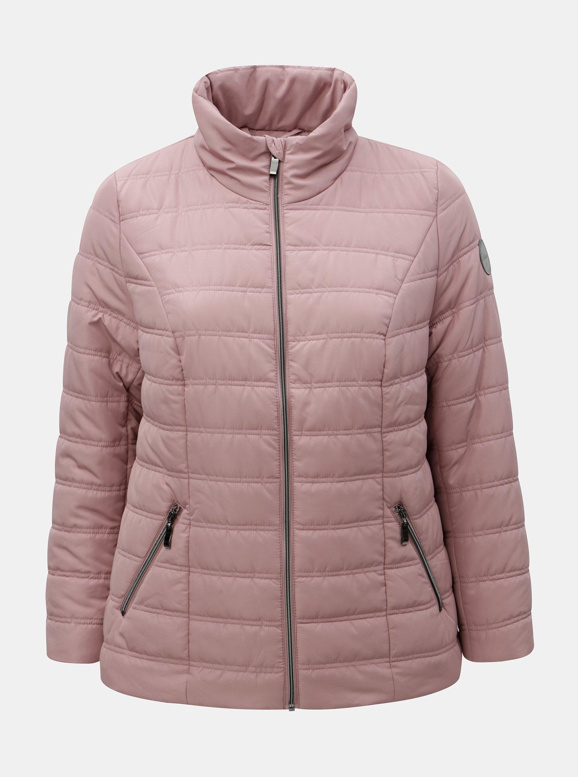 Staroružová zimná prešívaná bunda Ulla Popken