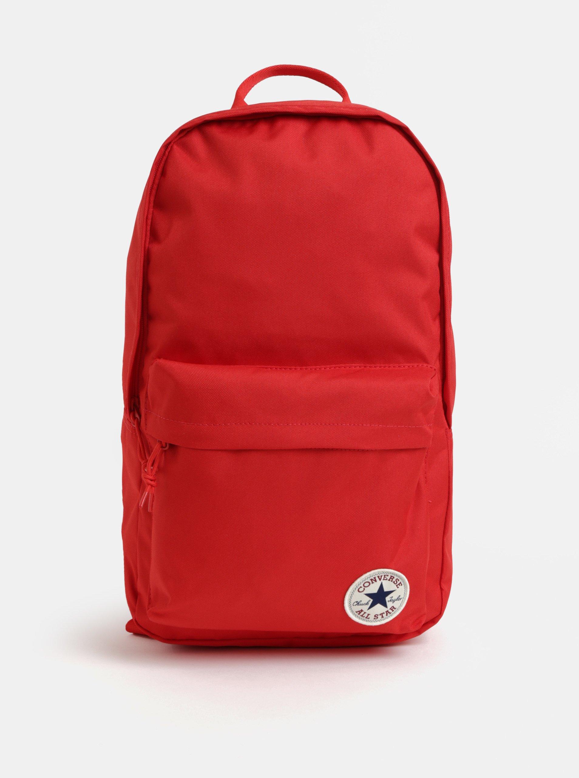 Červený batoh Converse EDC Backpack 19 l aaf480d508