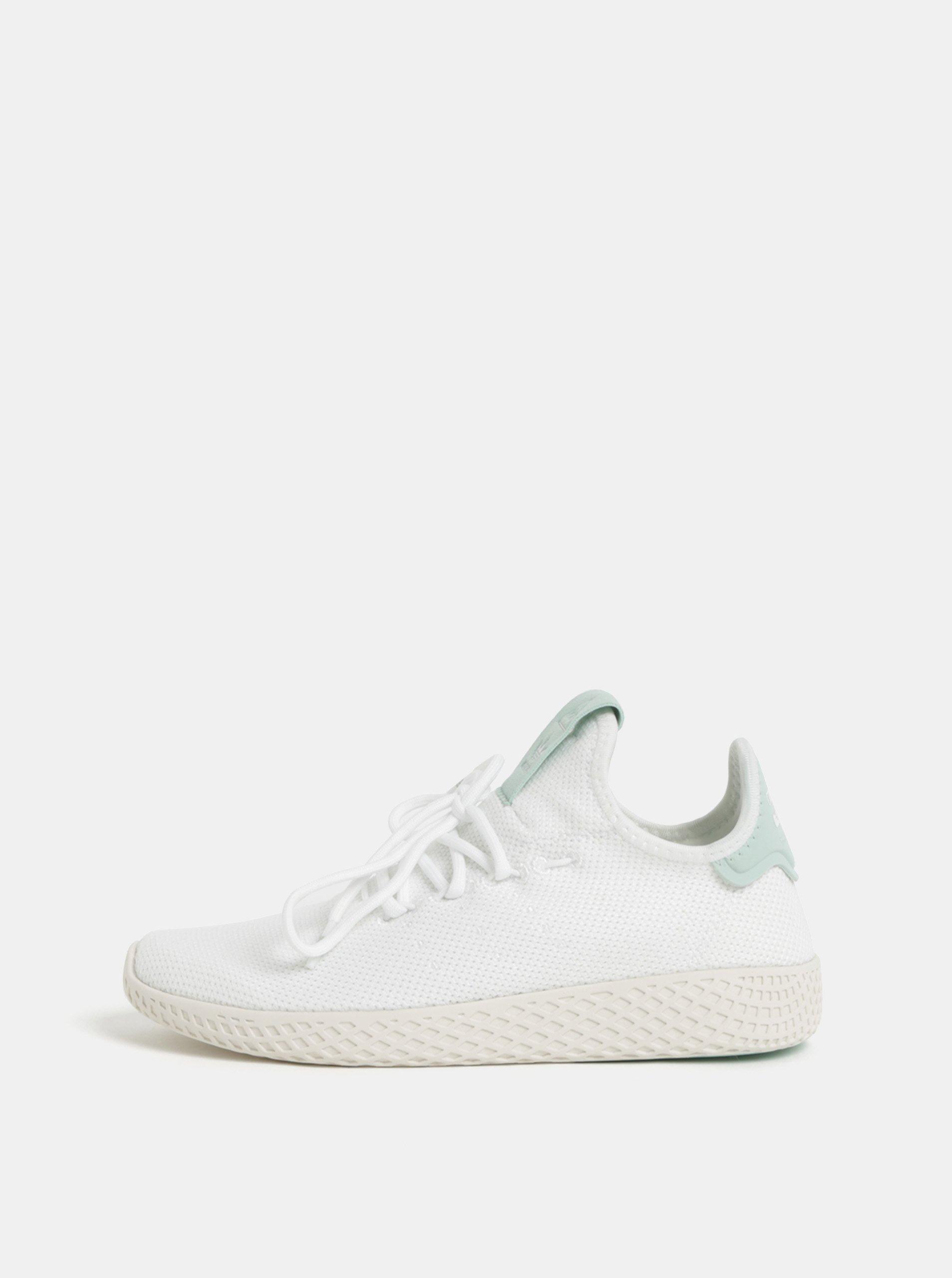08740d59c7b Mentolovo-bílé dámské tenisky adidas Originals Tennis