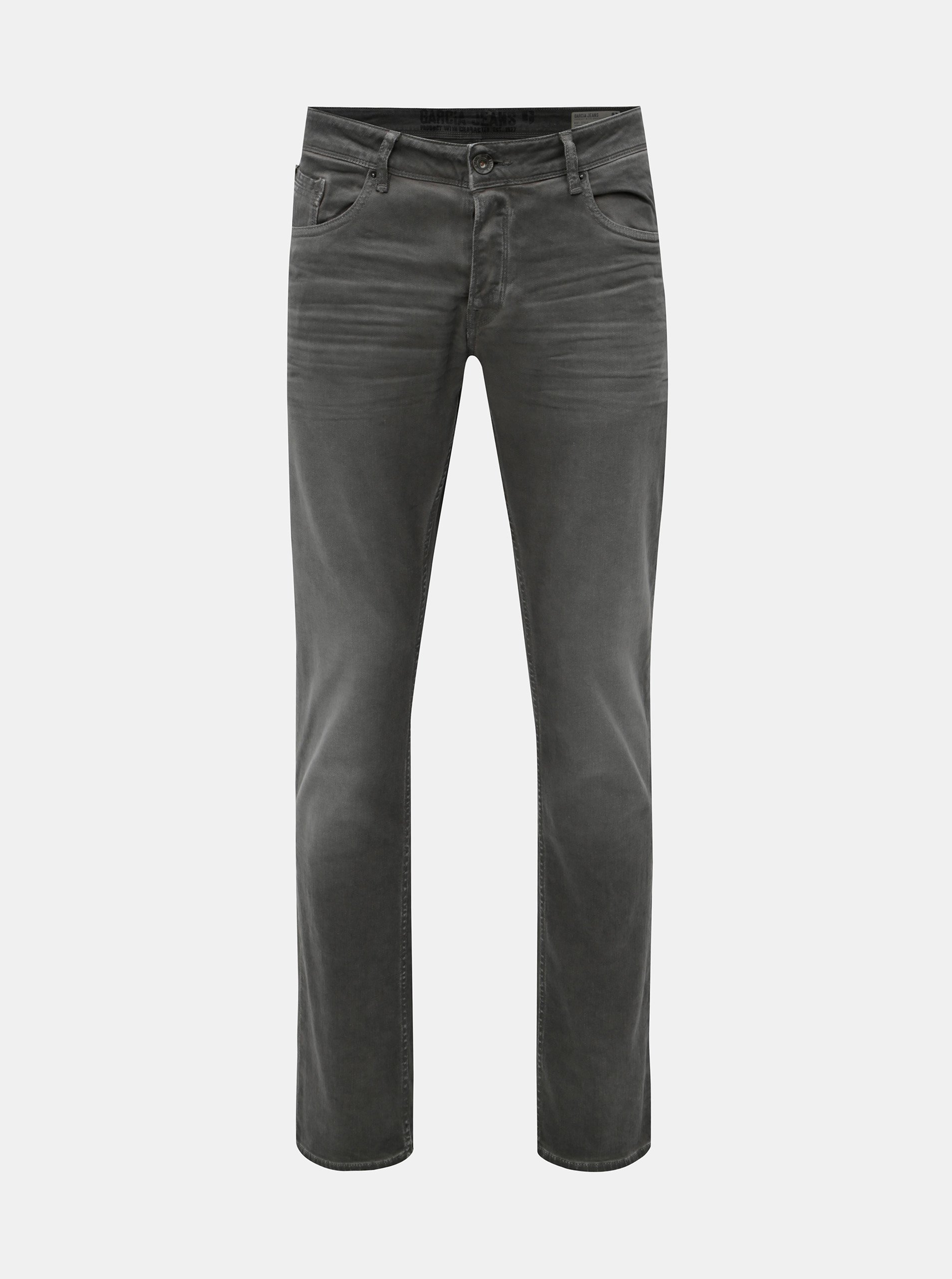 7222a967e24 Šedé pánské slim fit džíny Garcia Jeans