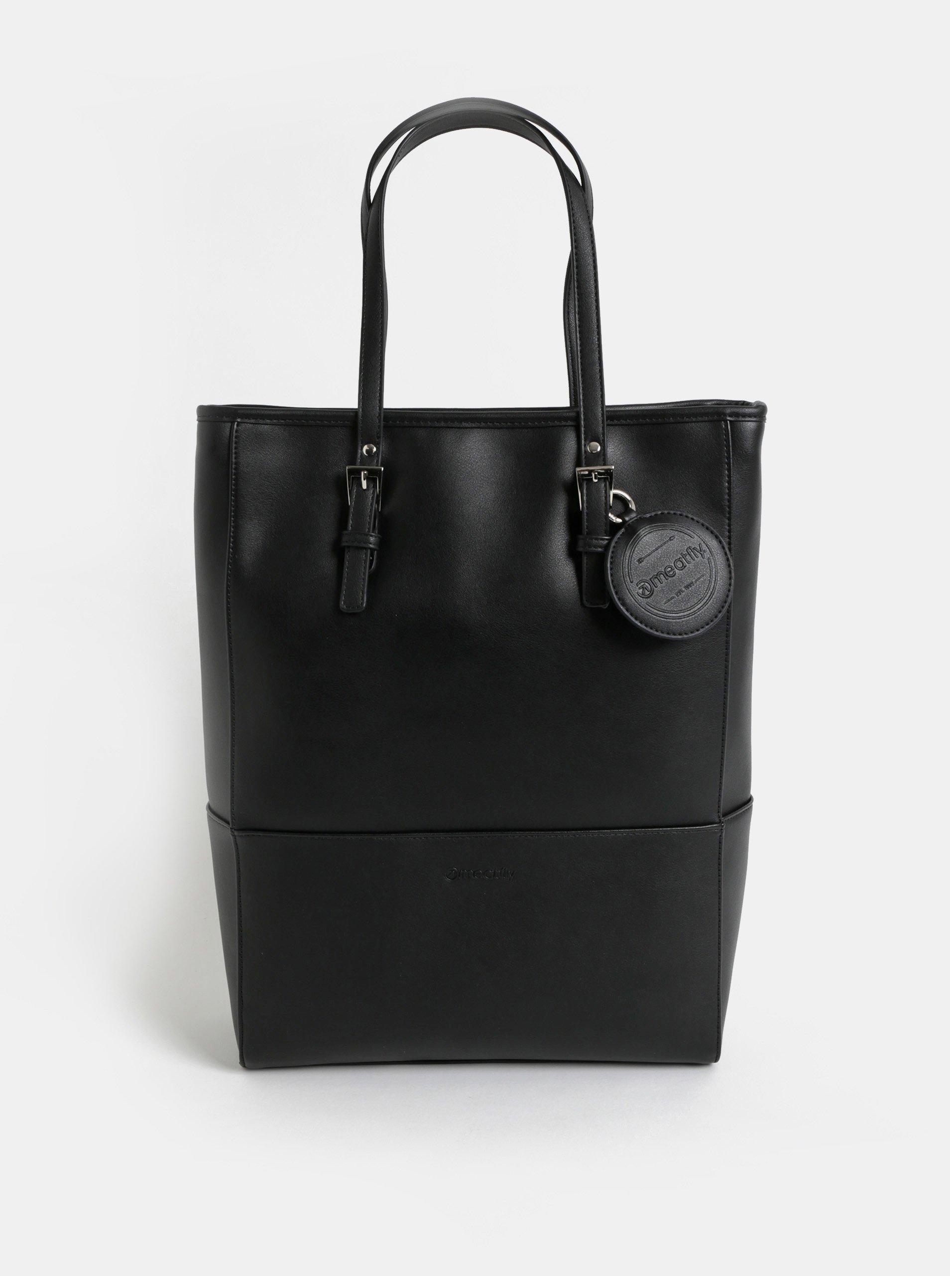 Černá velká kabelka Meatfly