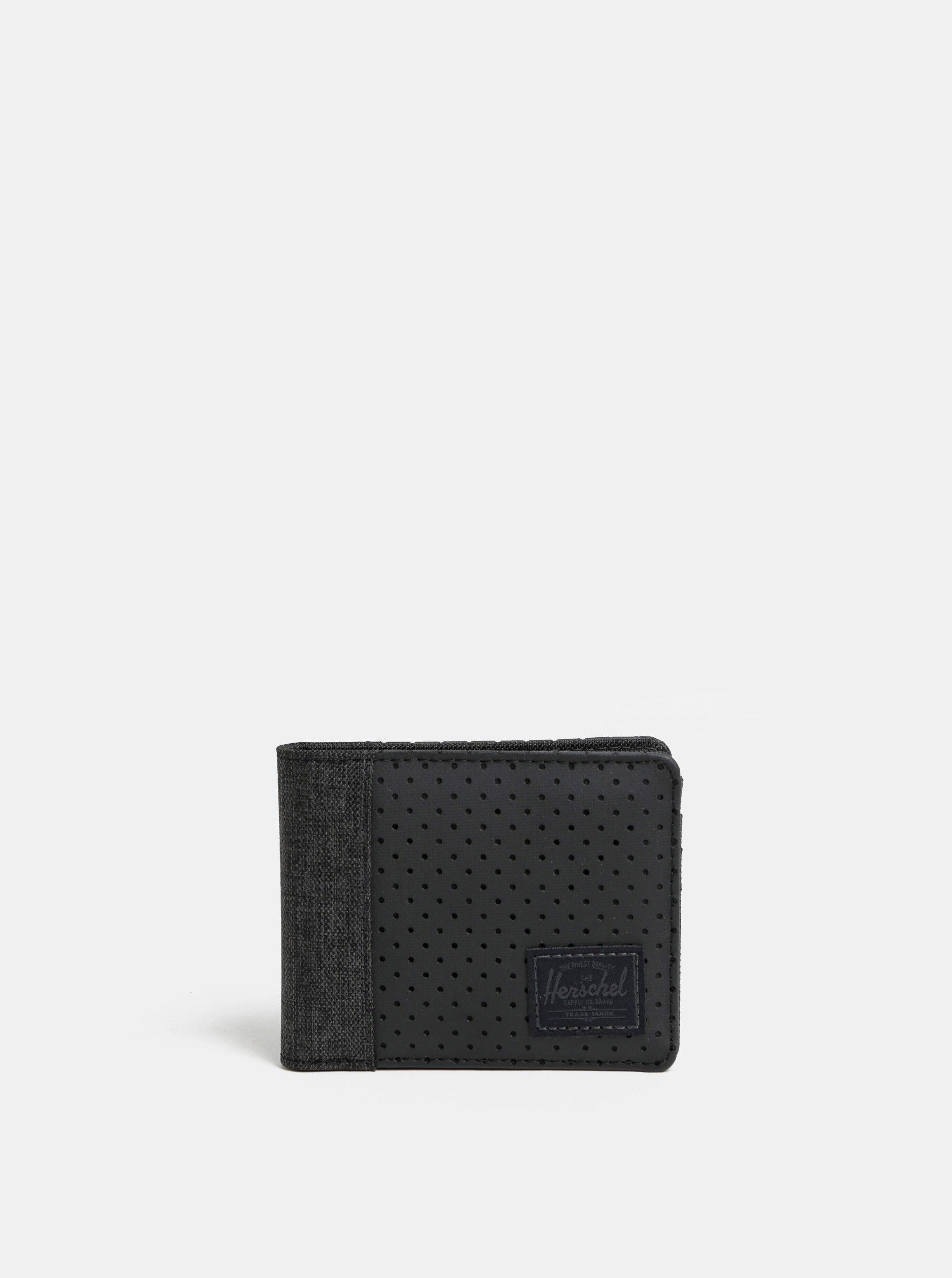 Černá pánská peněženka Herschel Edward RFID