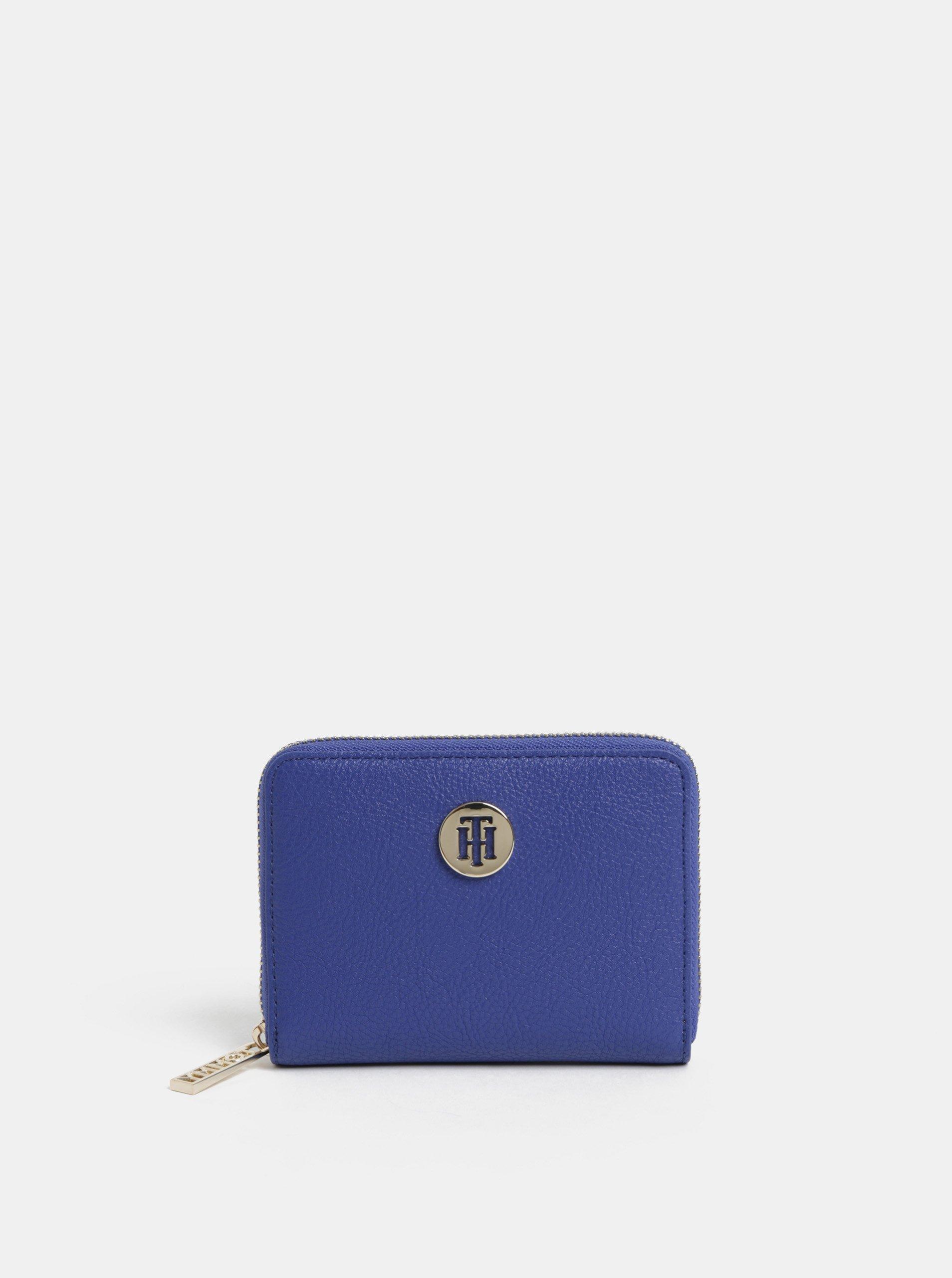 Modrá dámska malá peňaženka Tommy Hilfiger Core 0e26c8bbaaf