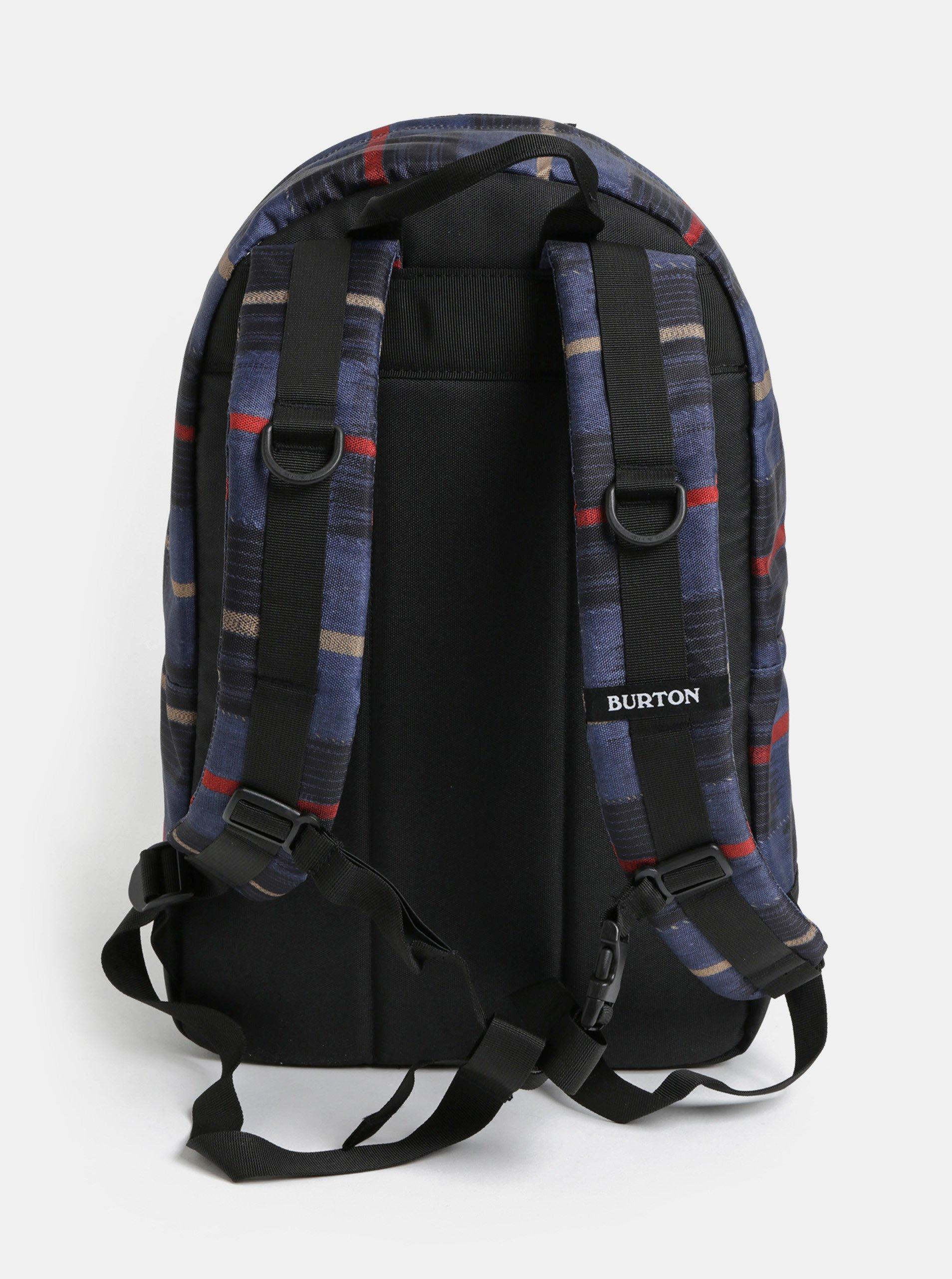 2f13866b3159 Modrý vzorovaný batoh Burton 20 l