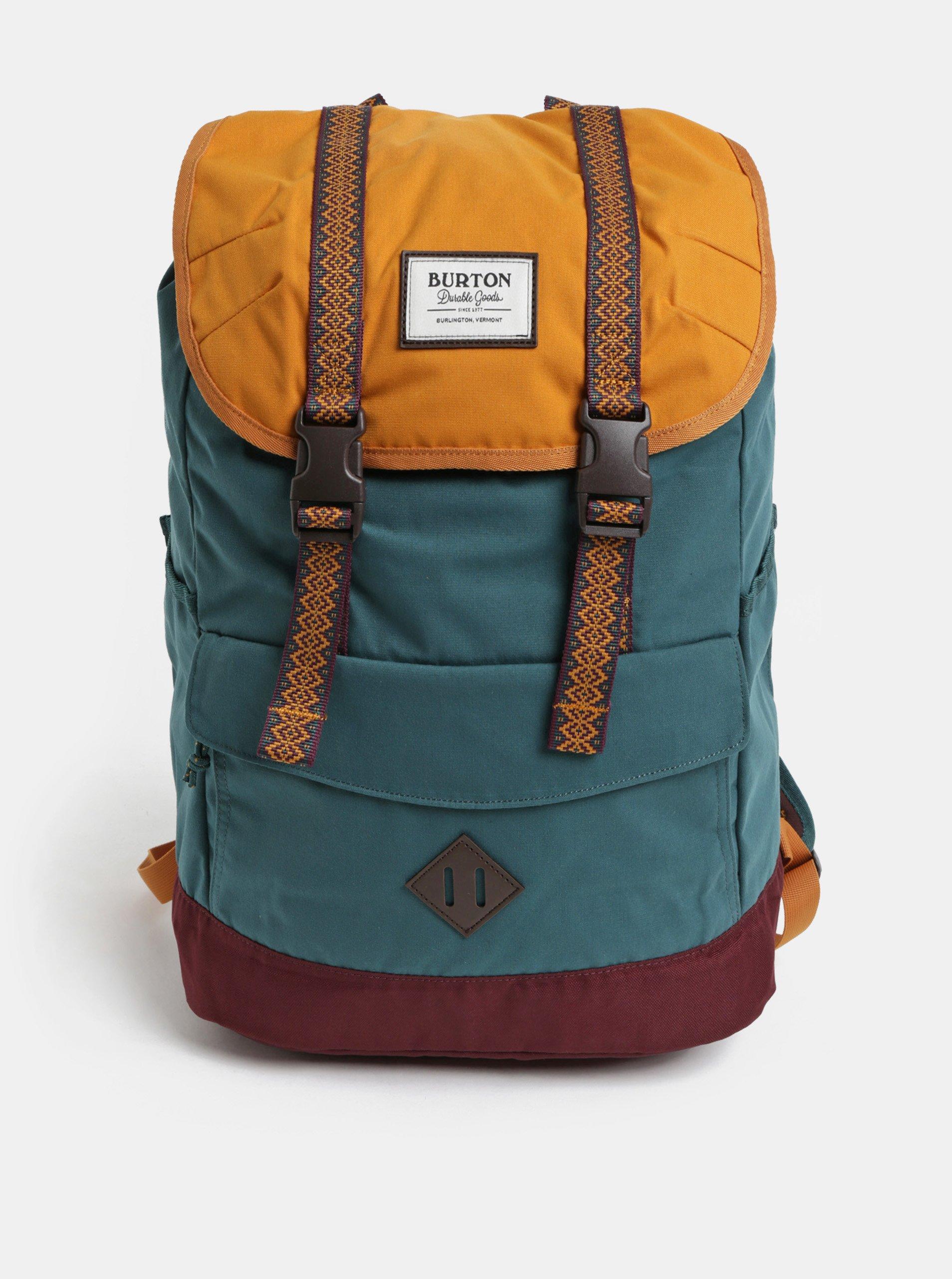 26ce23d6004 Vínovo-zelený batoh Burton 23 l