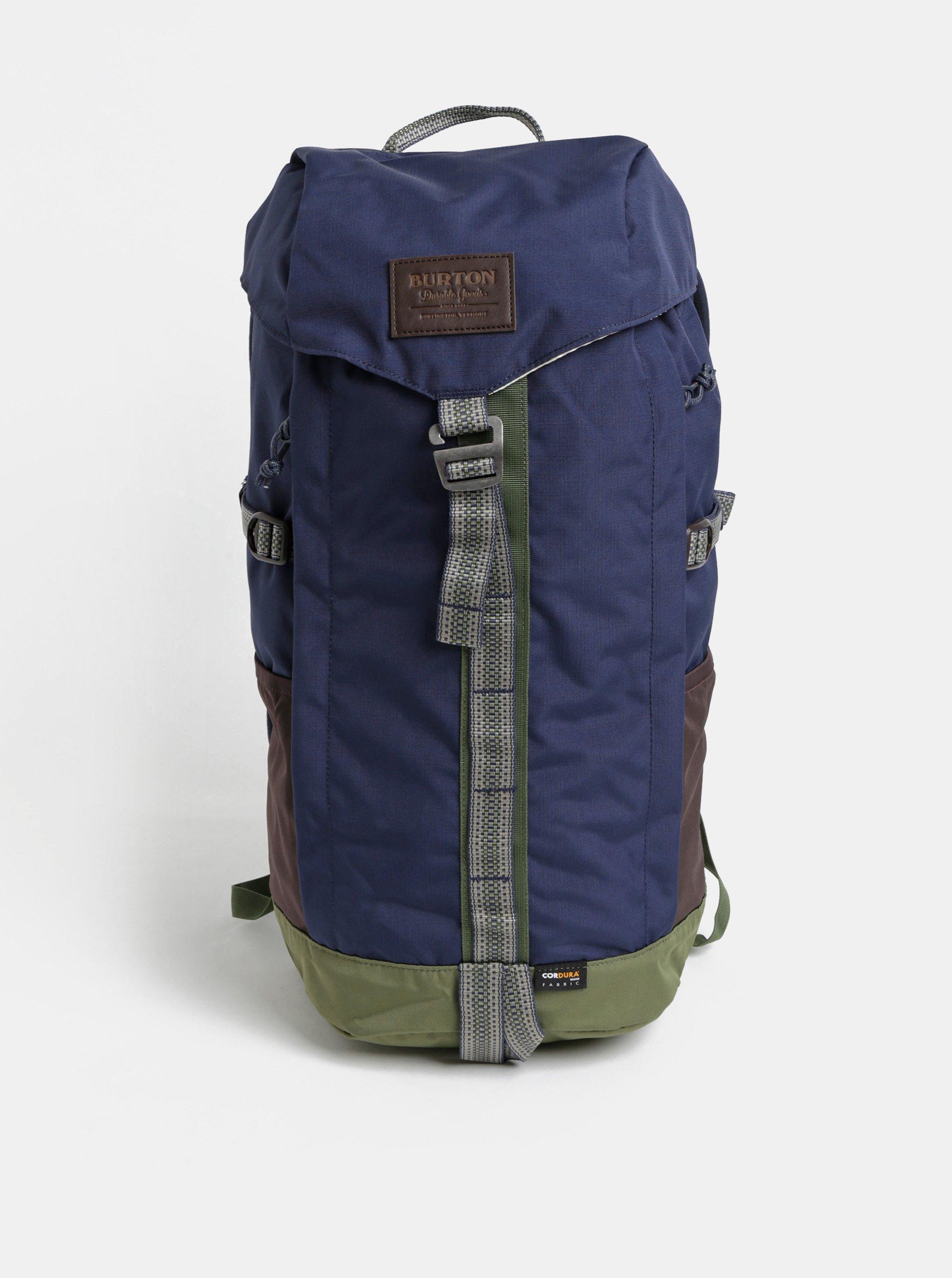 Skladaci batoh s bocni kapsou modra  d9a778fcfb