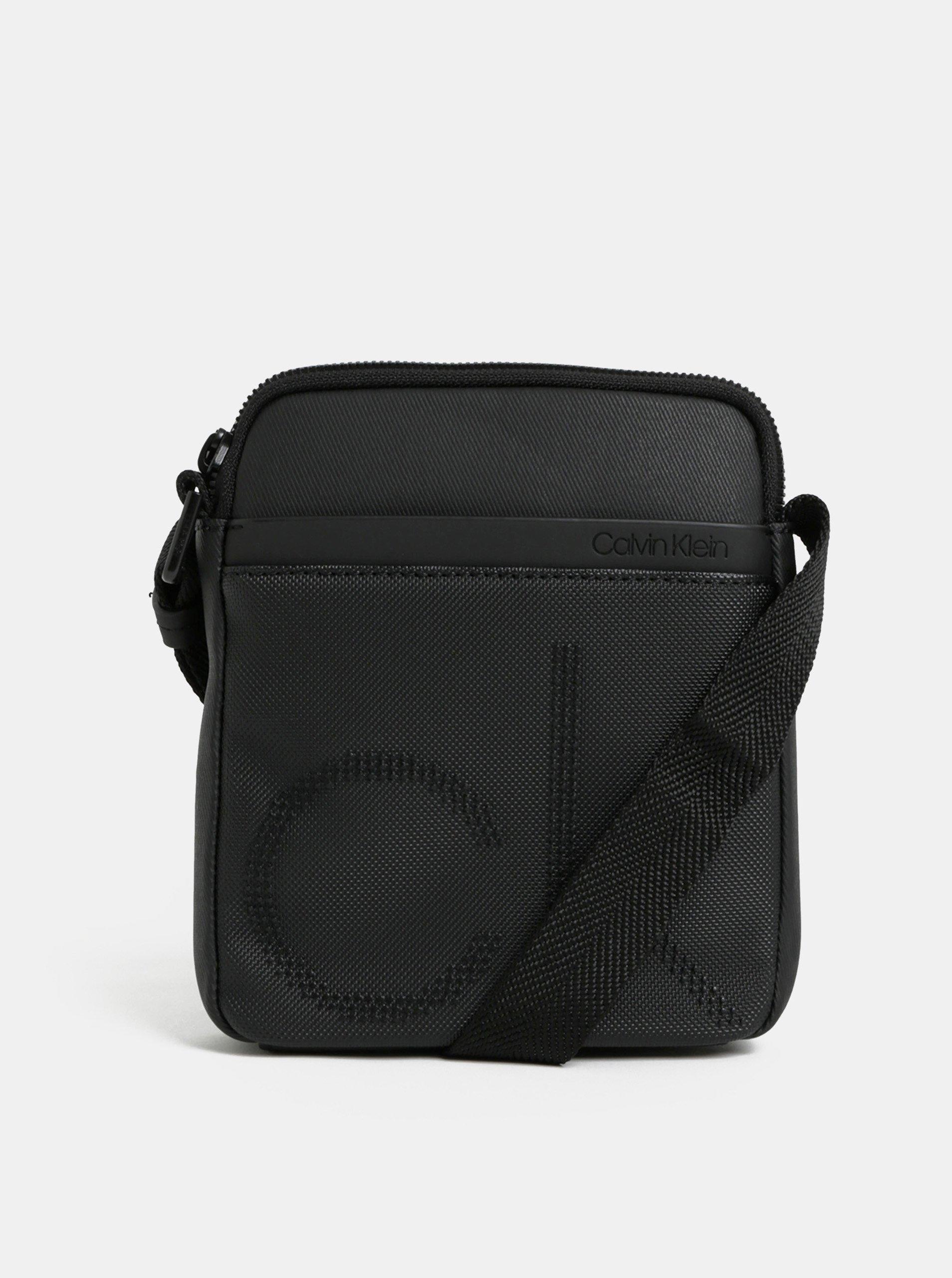 Čierna pánska crossbody taška Calvin klein Jeans c85947ac627
