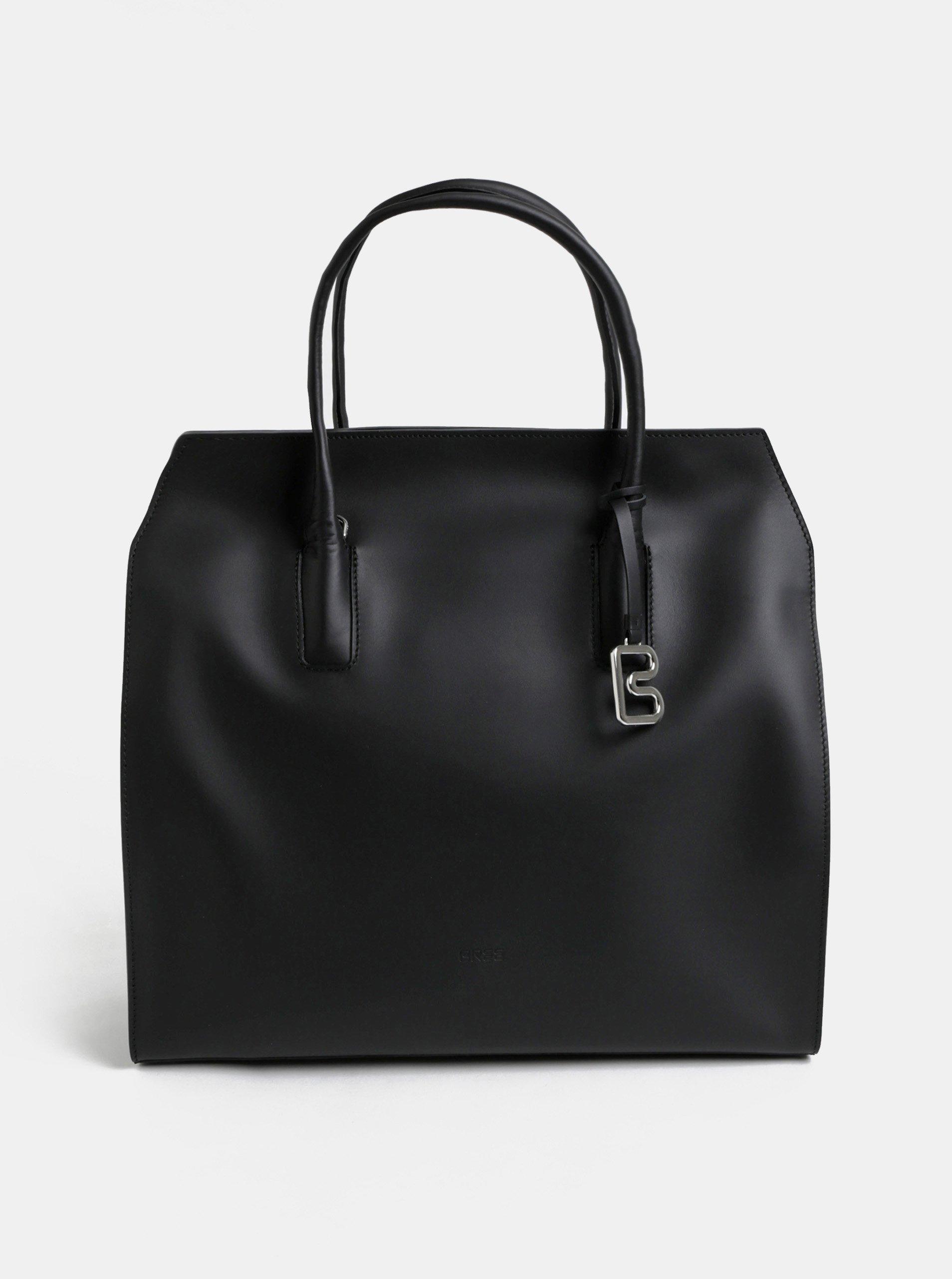 Černá velká kabelka BREE Cambridge