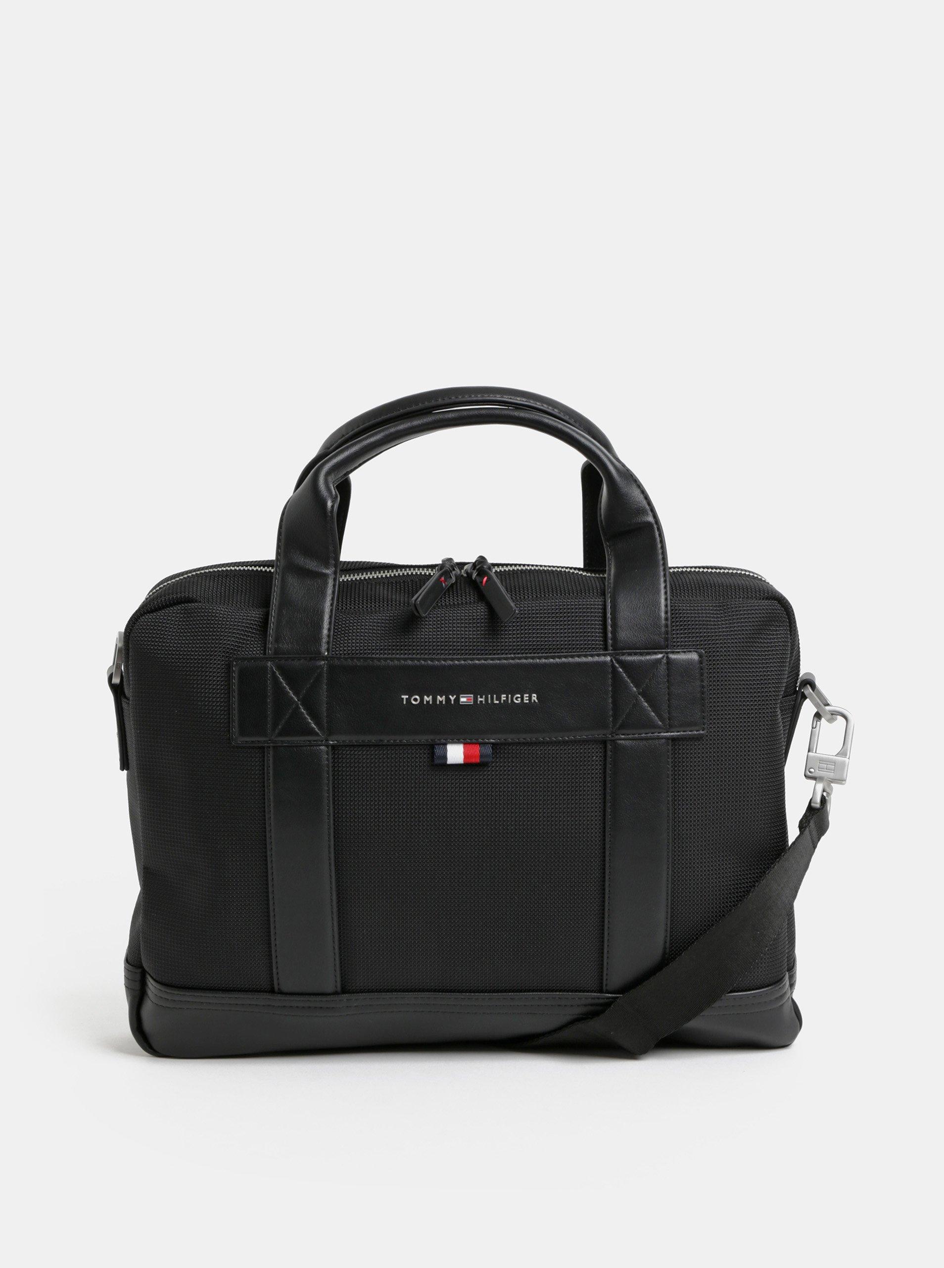 17d0721503 Čierna taška na notebook Tommy Hilfiger