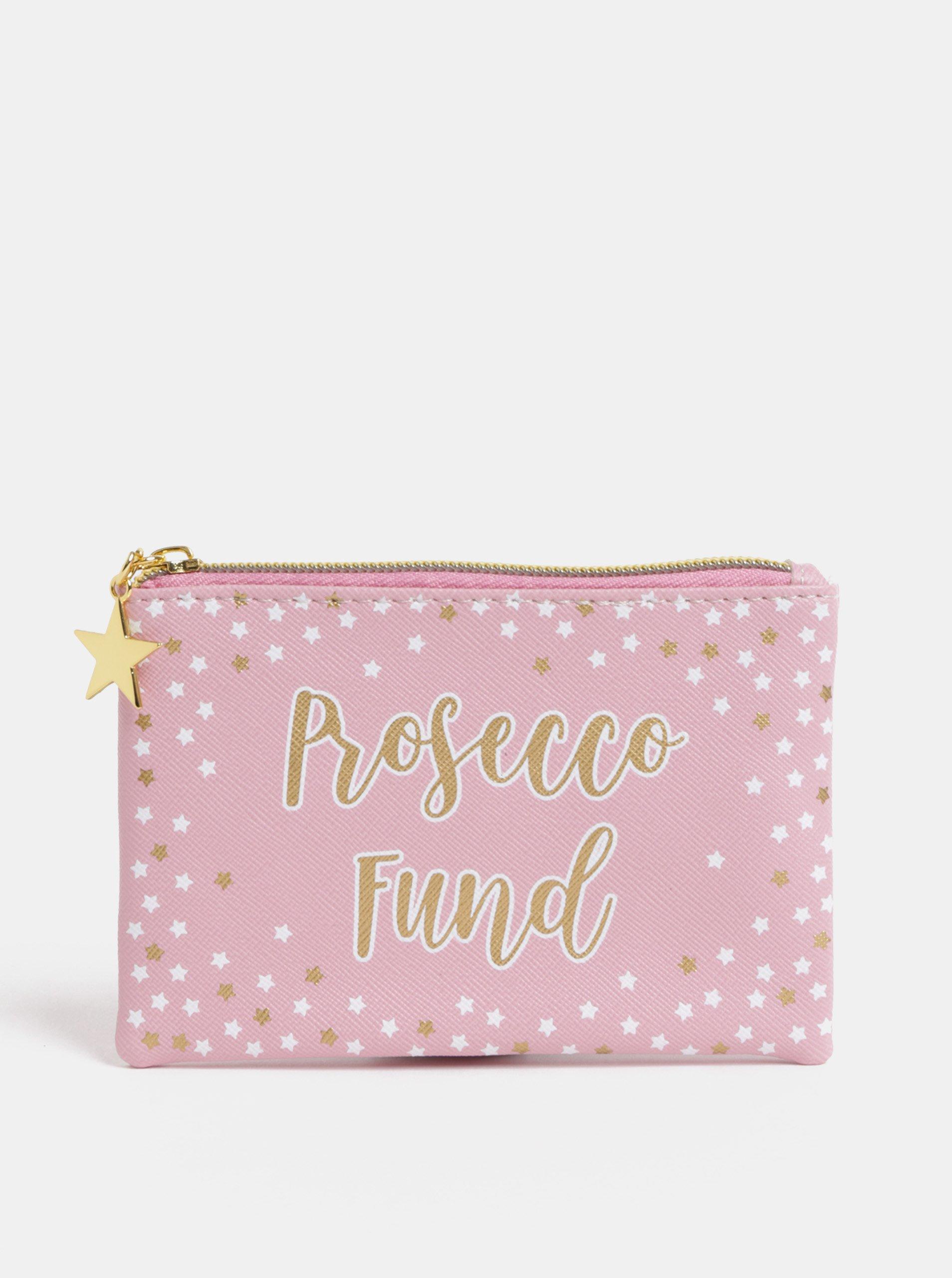 eed3dfe477 Ružová malá kozmetická taštička Sass   Belle