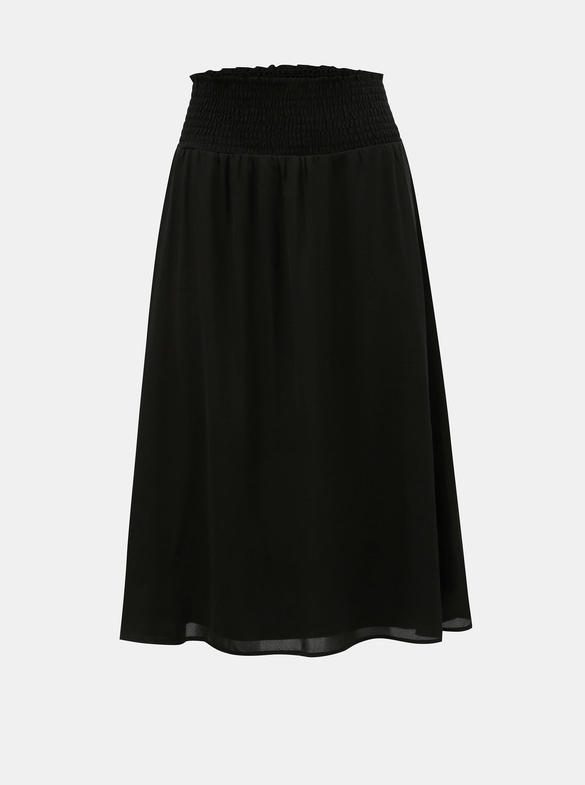 ff481f19f685 Černá áčková sukně ONLY Liva