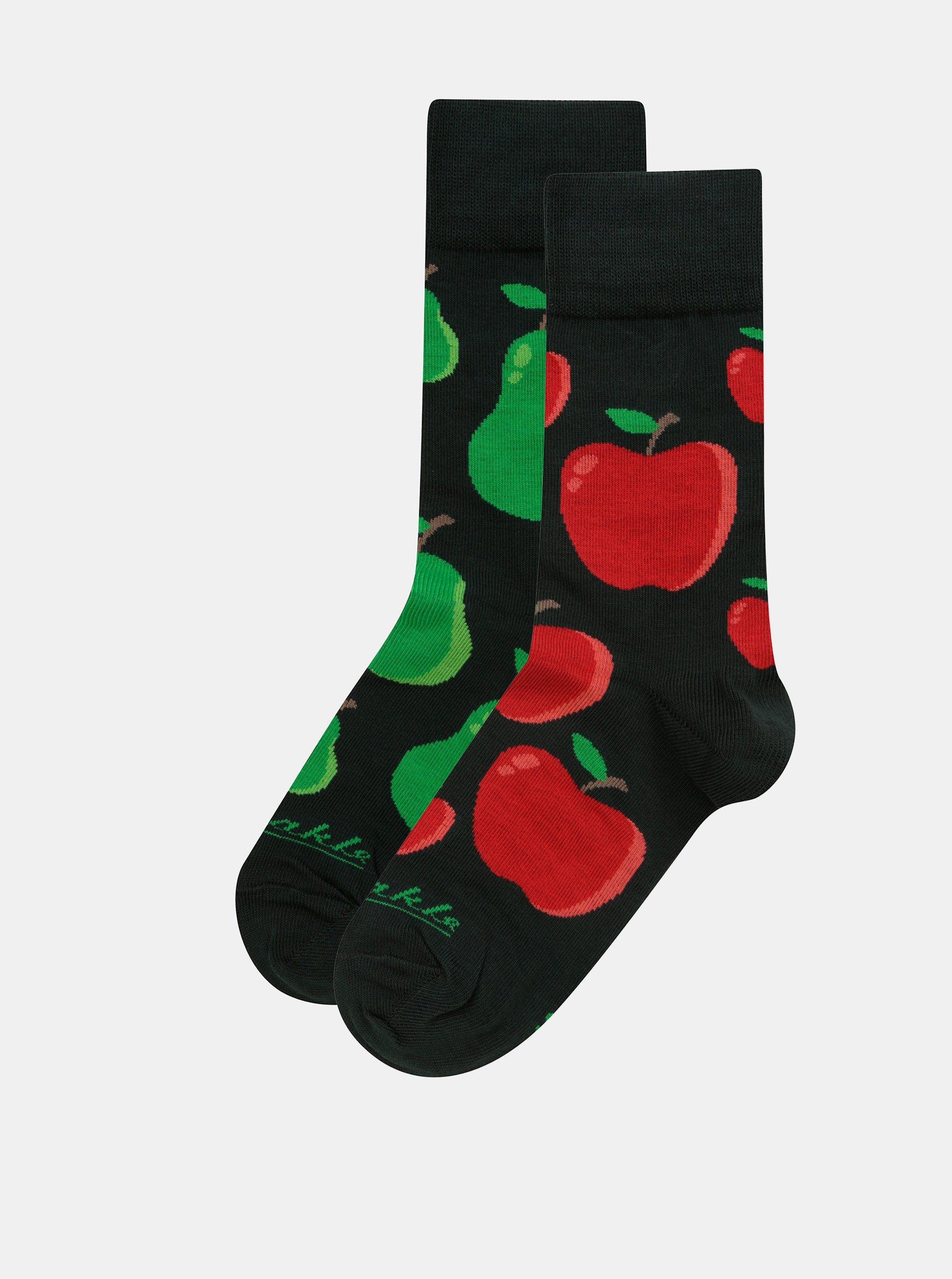 Zelené unisex ponožky Fusakle Zahrada