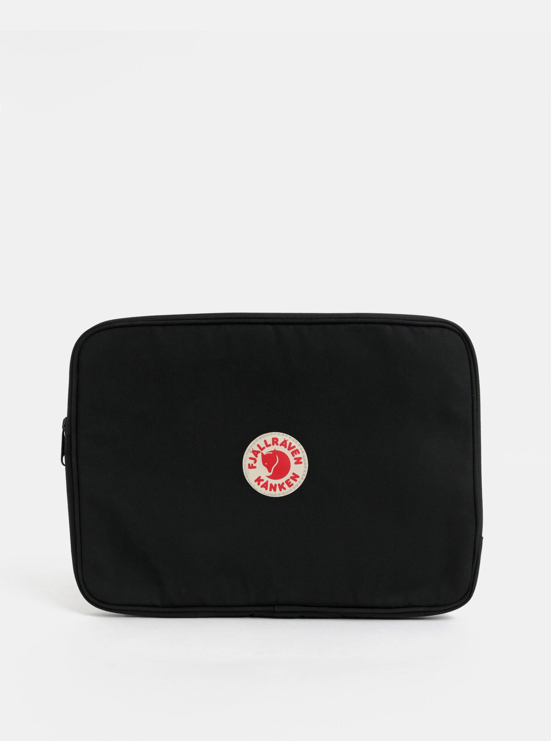 Čierne puzdro na notebook Fjällräven laptop case 13