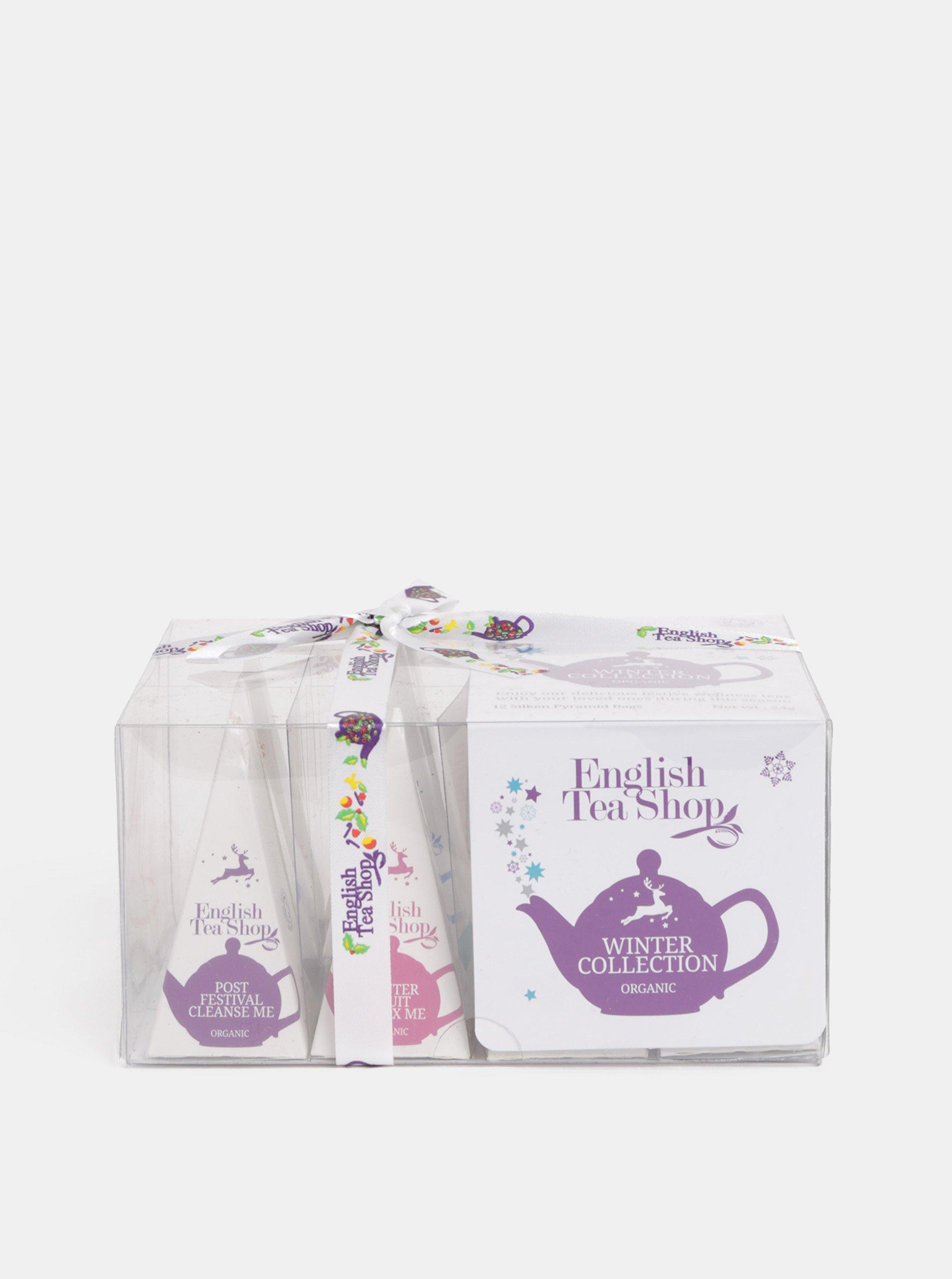 Dárková krabička čajů English Tea Shop Zimní kolekce