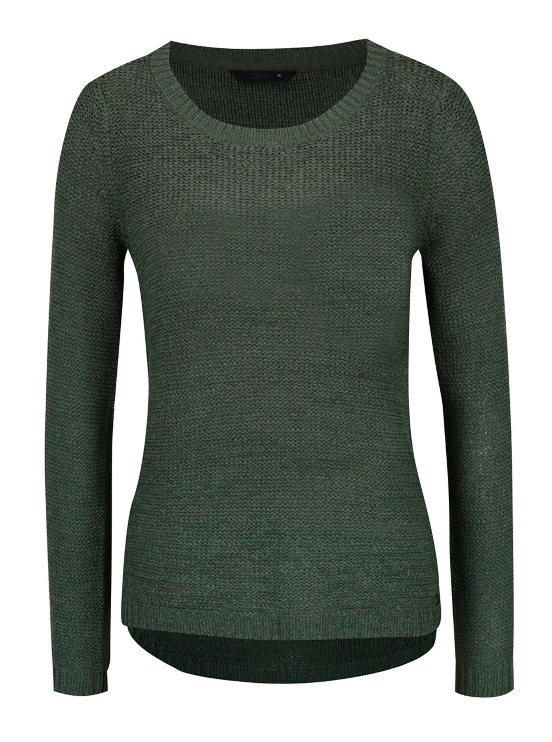 Zelený ľahký sveter ONLY Geena