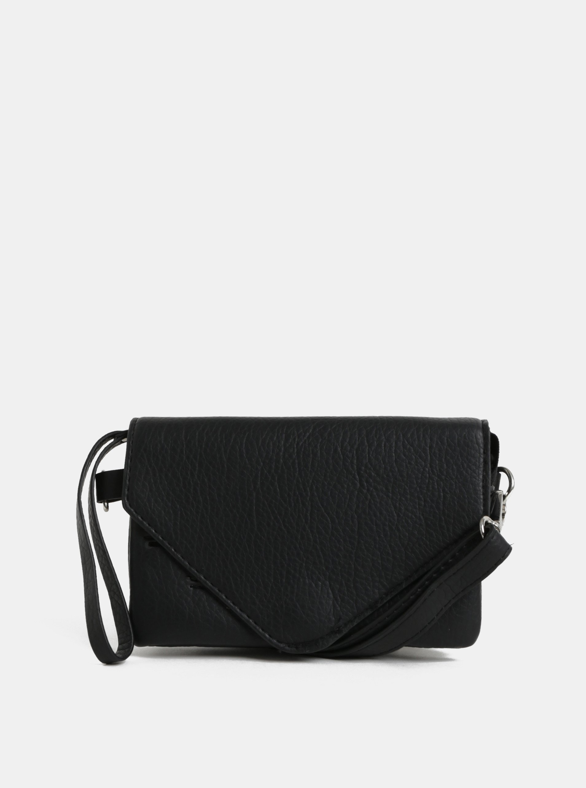 Čierna malá crossbody kabelka Pieces Lapis