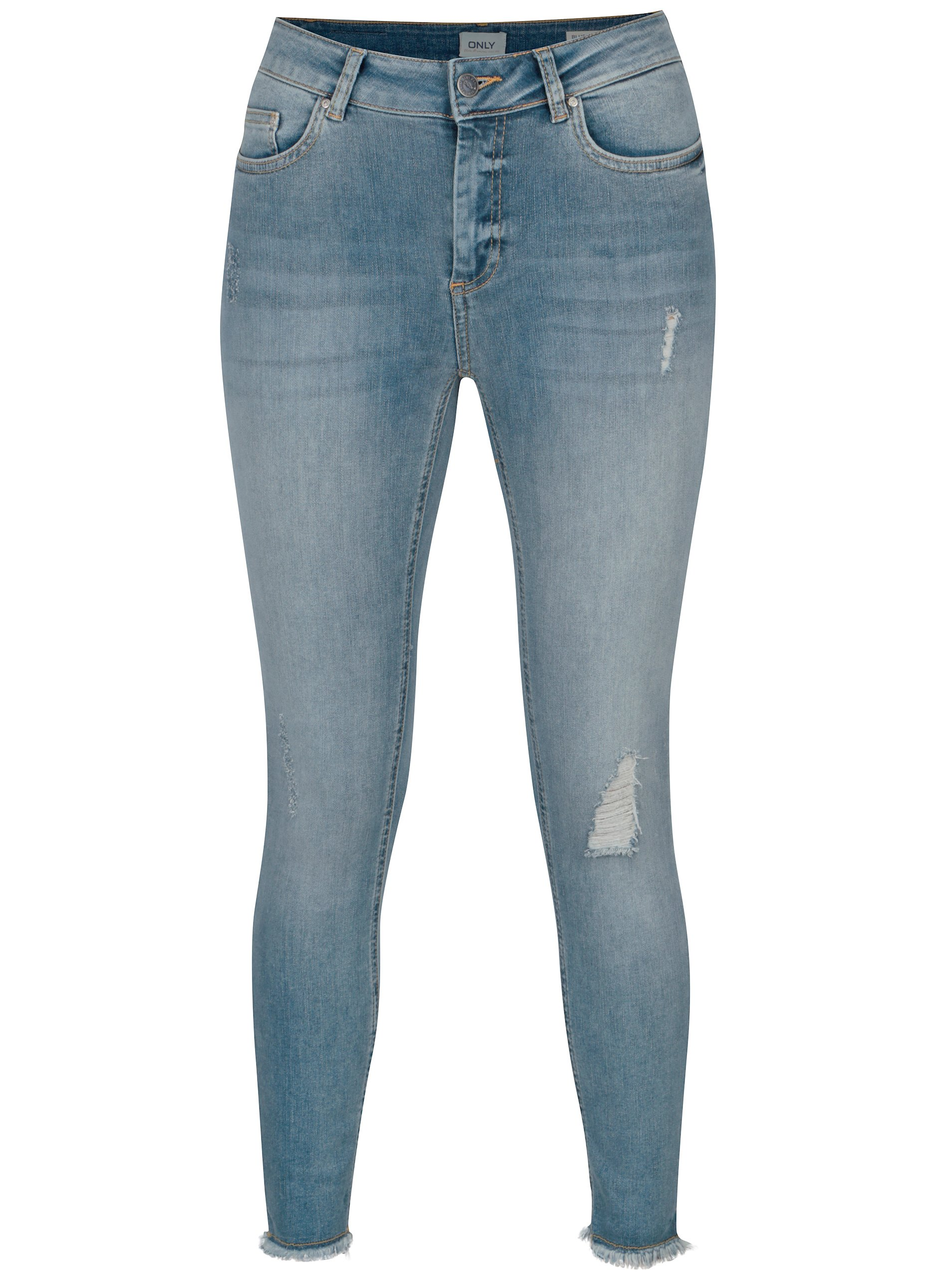 Fotografie Světle modré skinny fit džíny ONLY Blush