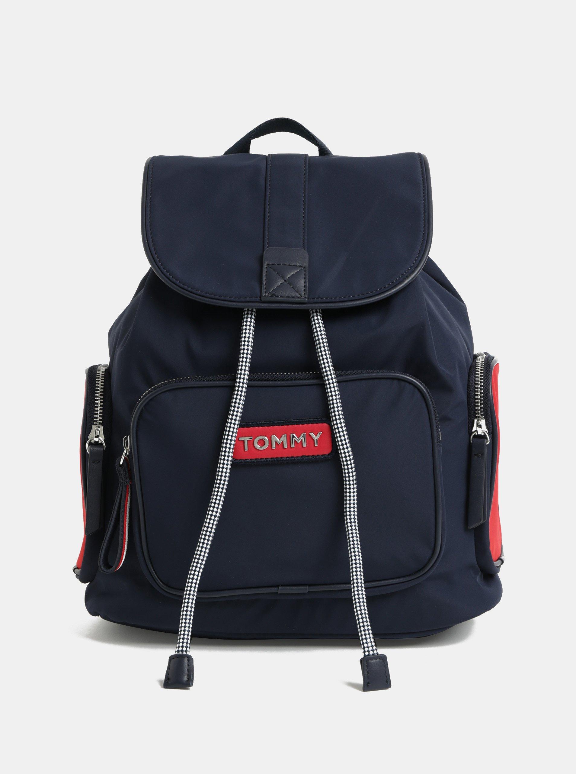 8aea70a4fc Tmavě modrý batoh Tommy Hilfiger