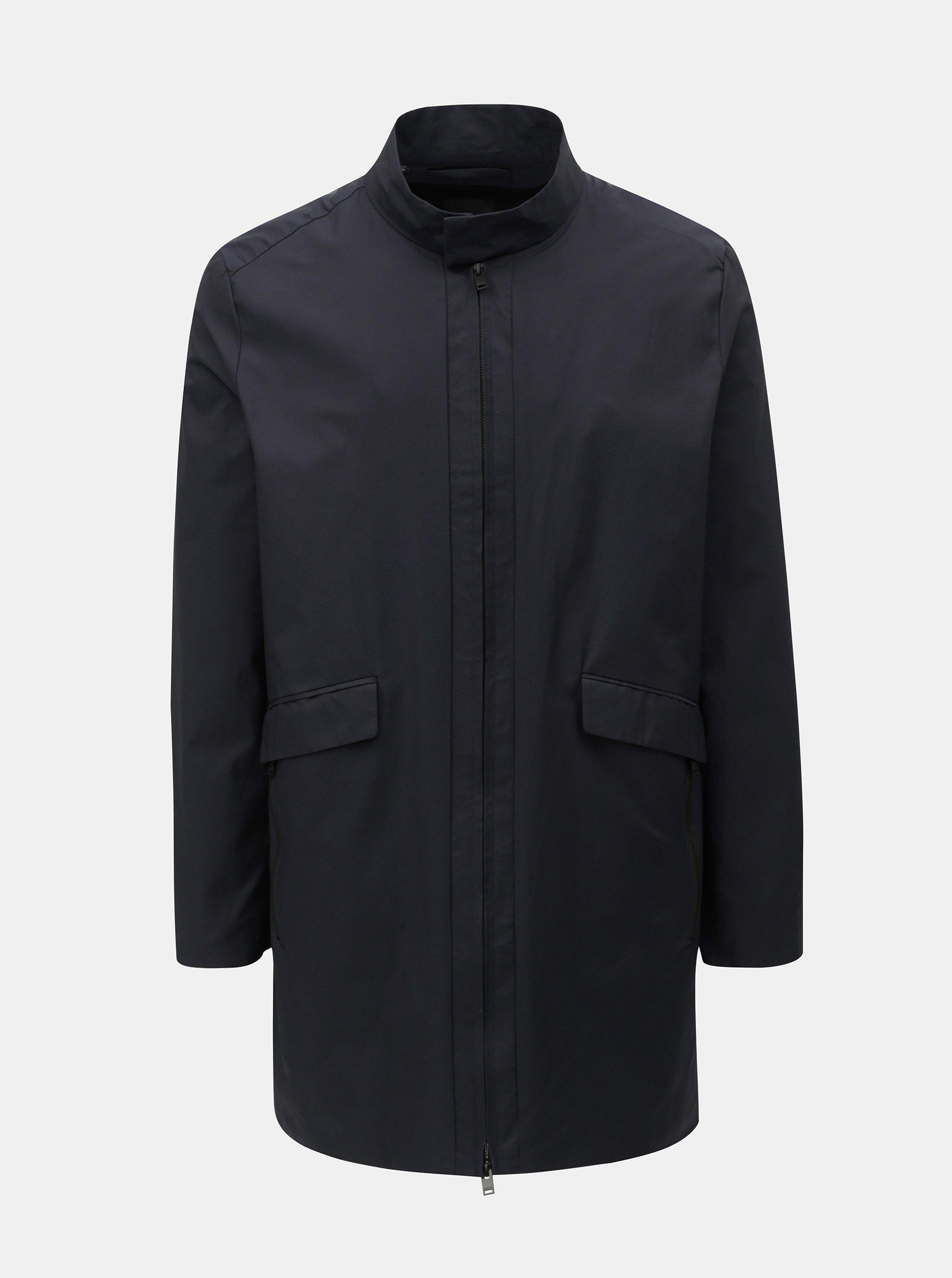 Tmavě modrý lehký kabát Selected Homme Luke