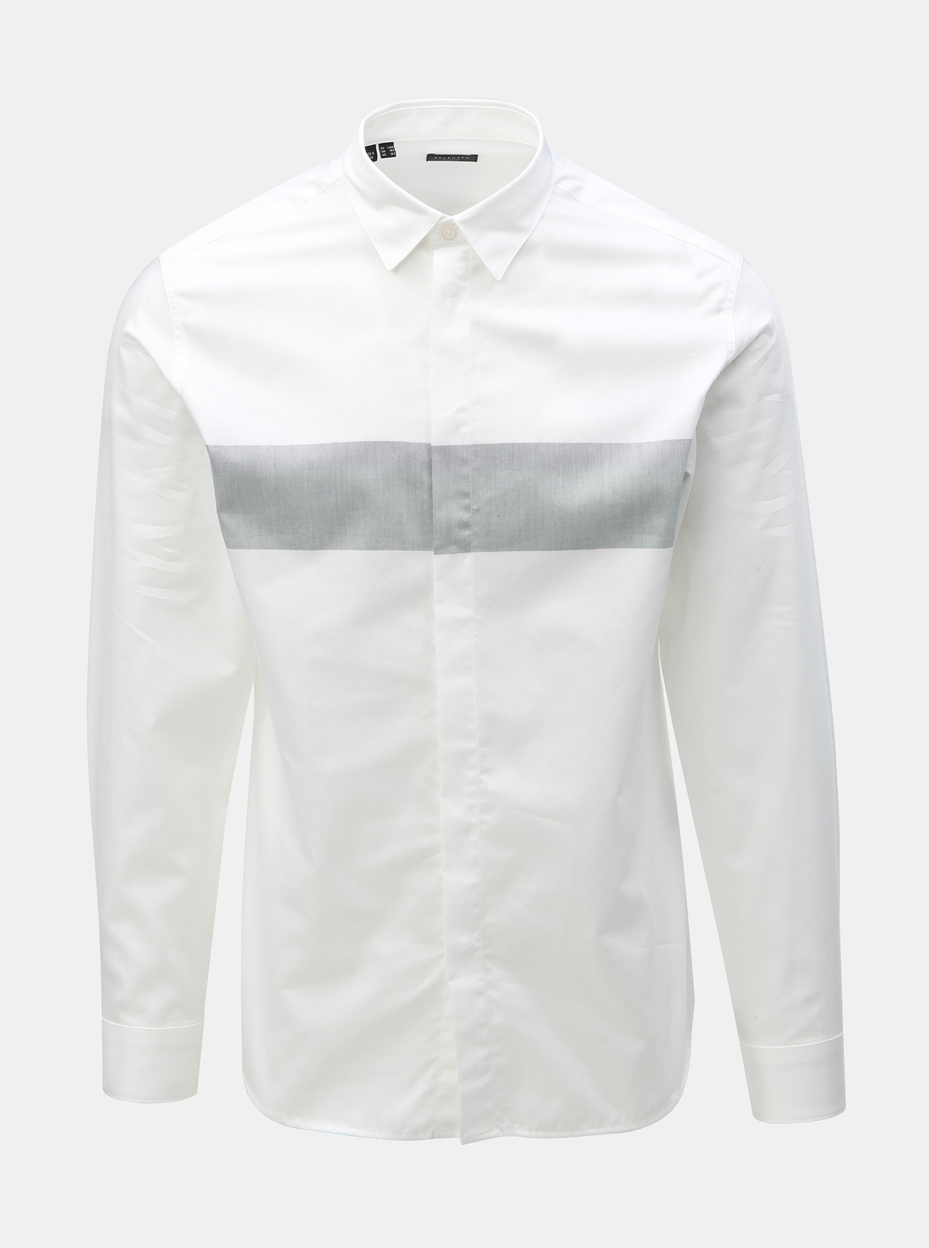 486919f209ed Bílá slim fit košile Selected Homme Block
