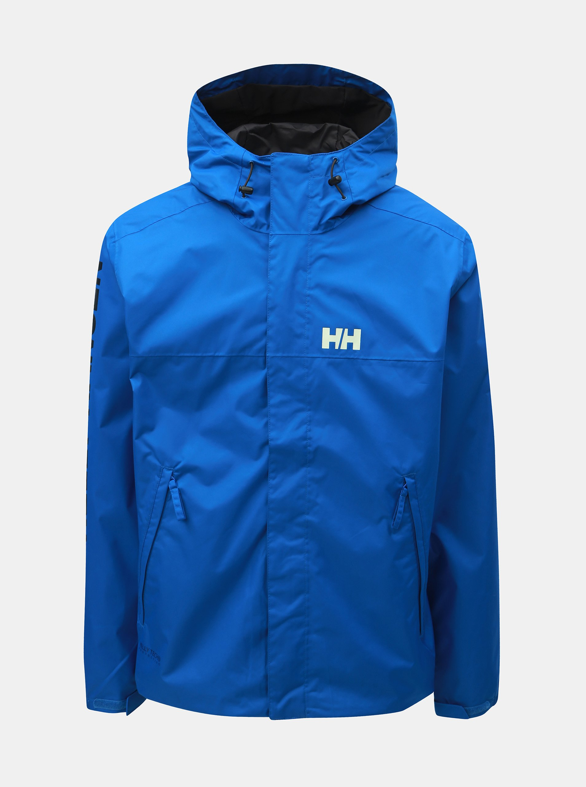 Fotografie Modrá pánská nepromokavá lehká bunda HELLY HANSEN