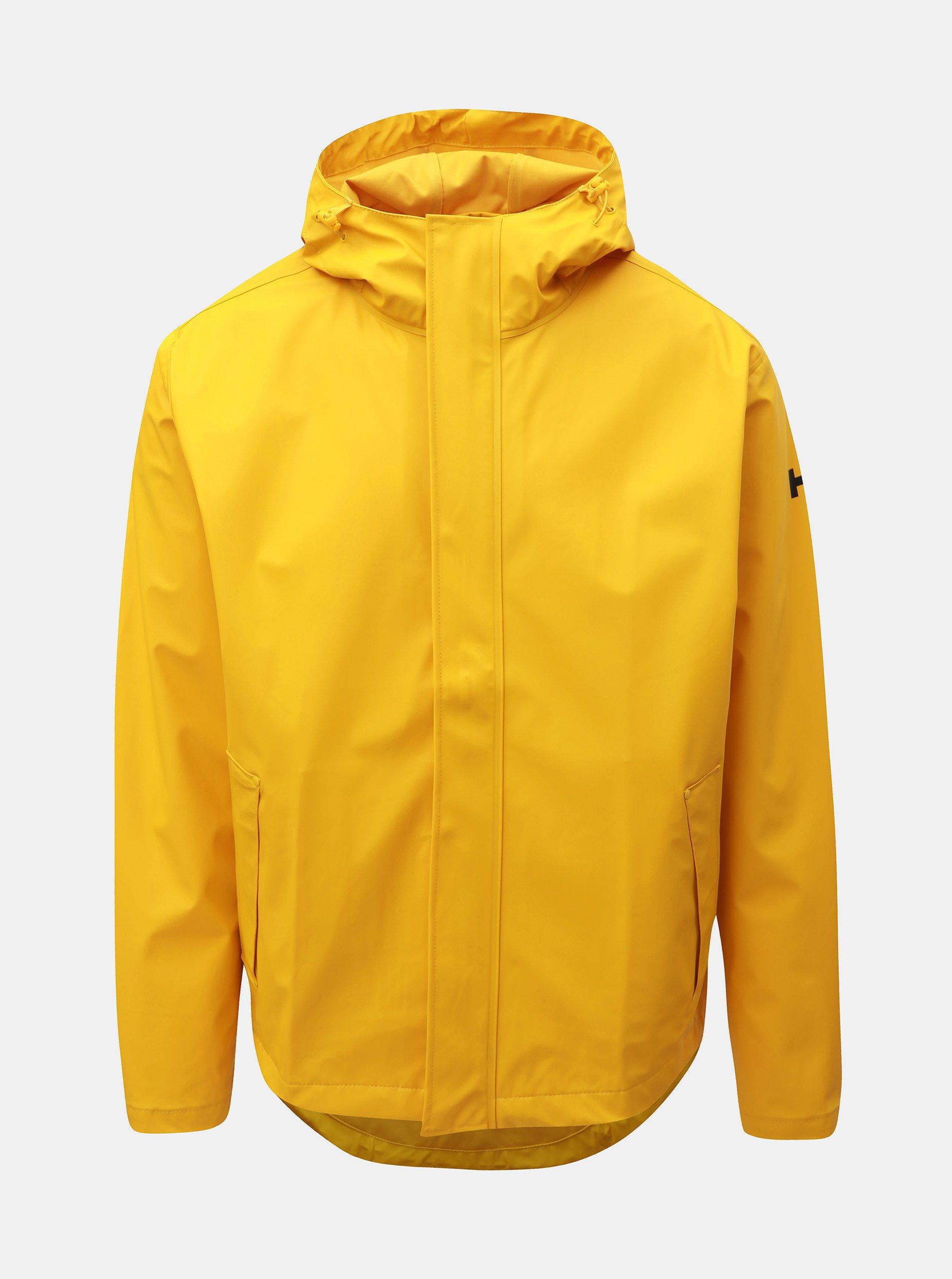 Žlutá pánská lehká bunda HELLY HANSEN