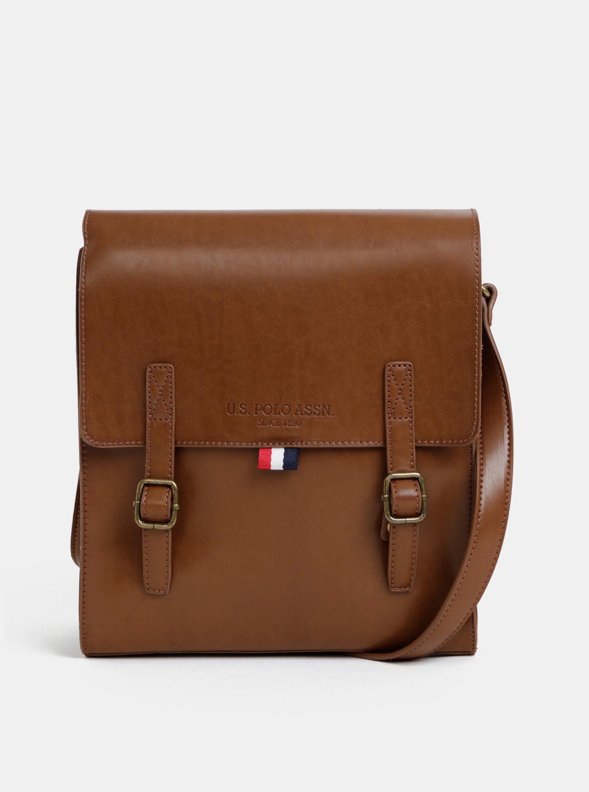 a1431b20ca Hnědá pánská taška U.S. Polo Assn.