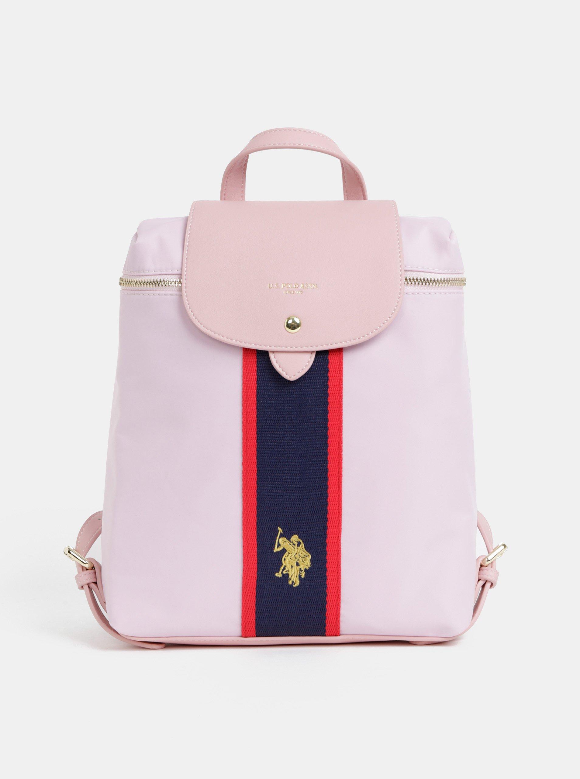 1d60528240 Růžový dámský batoh U.S. Polo Assn.