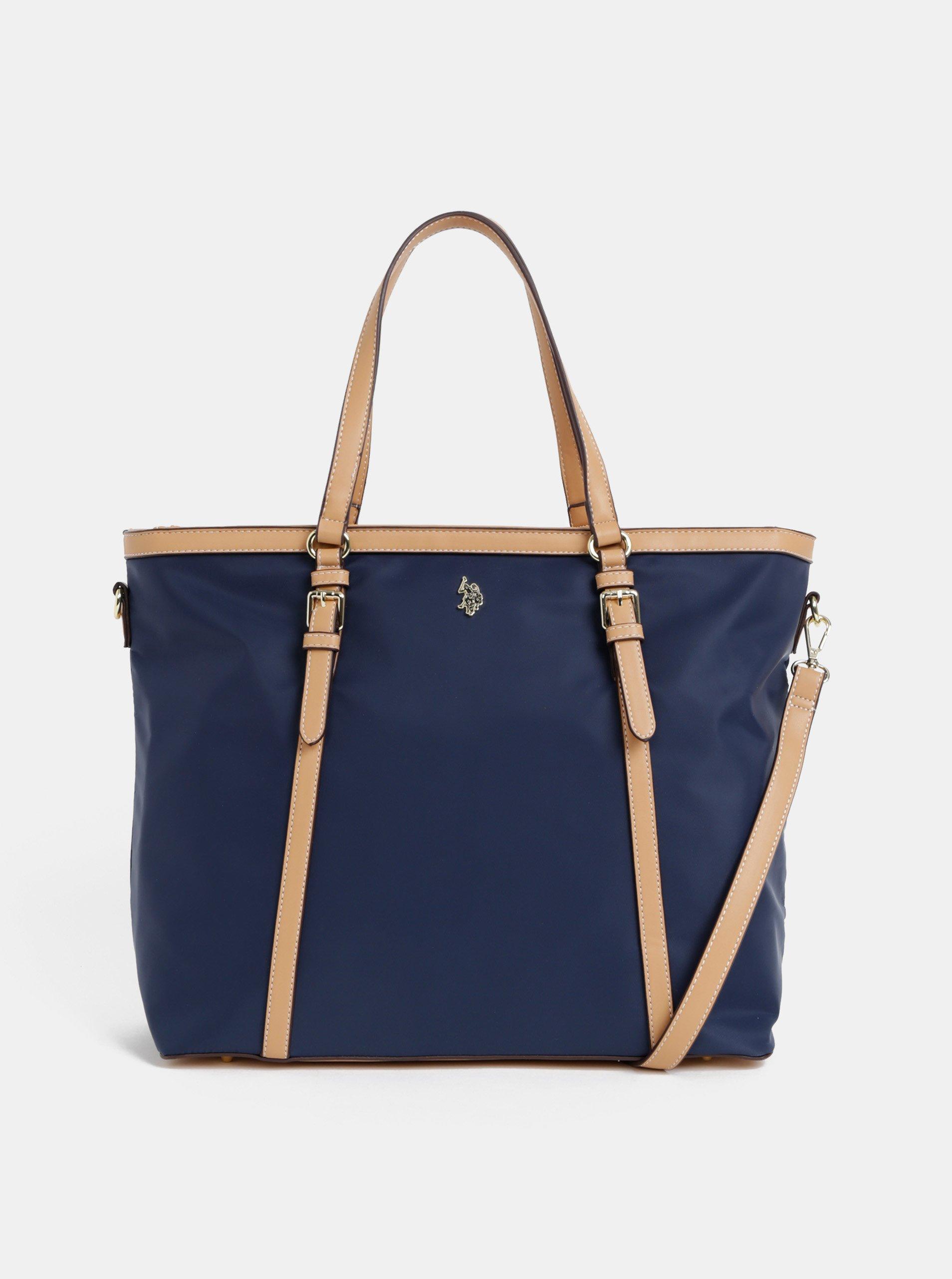 eff90275bd Tmavě modrá kabelka U.S. Polo Assn.