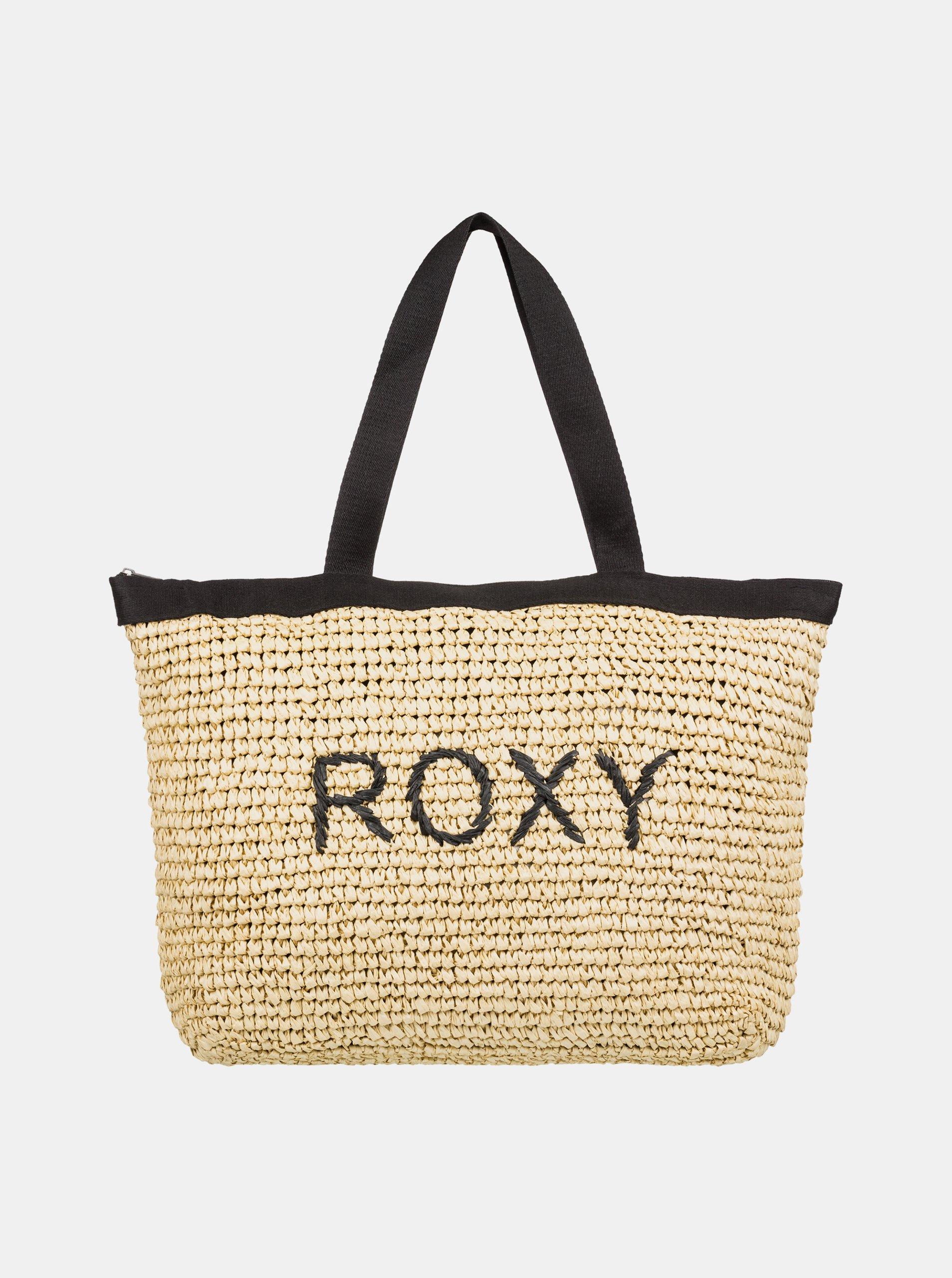 9e6ec0c49 Béžová plážová taška Roxy Heard That Sound
