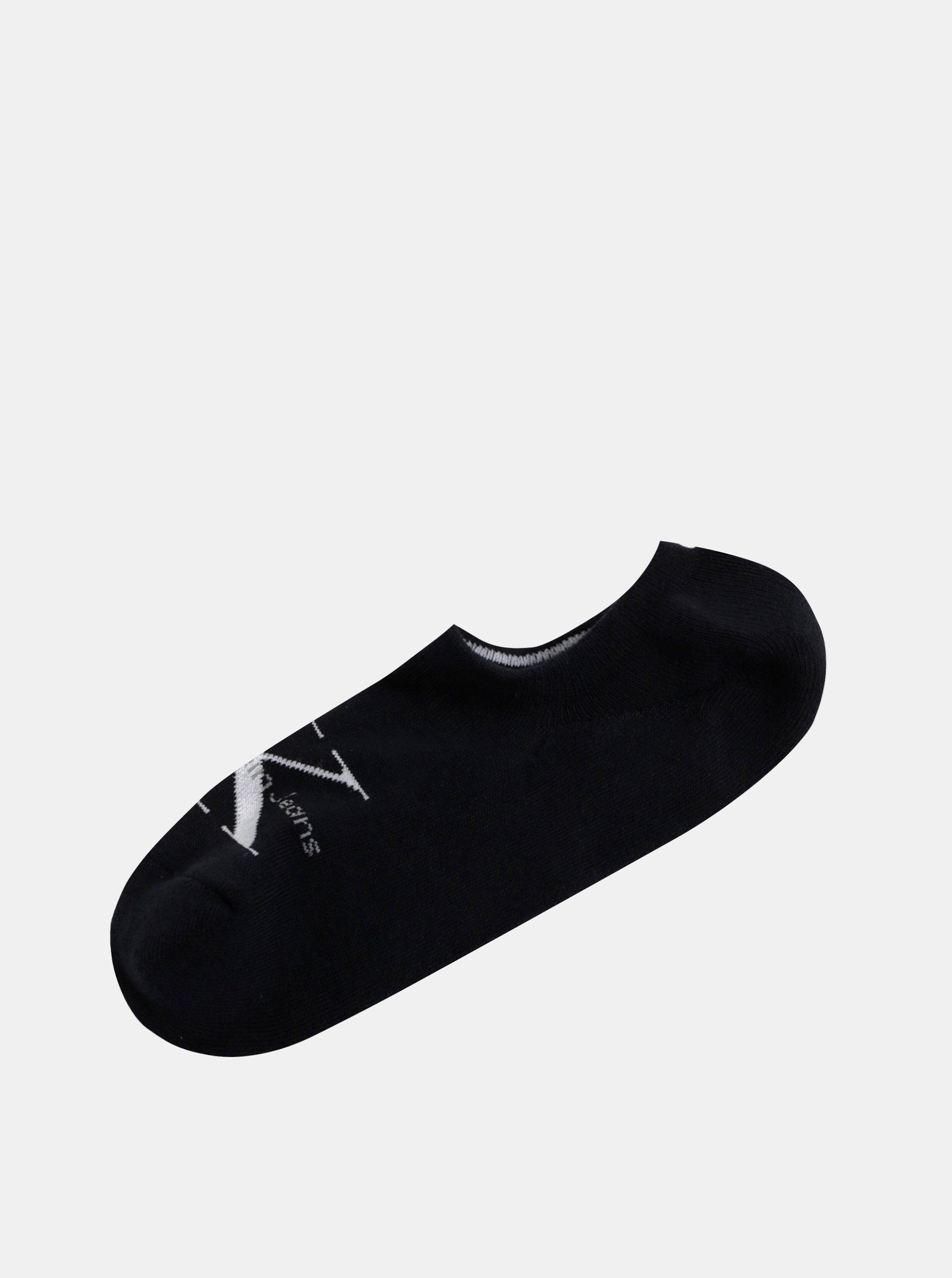 2e3261395a Černé pánské kotníkové ponožky Calvin Klein Jeans