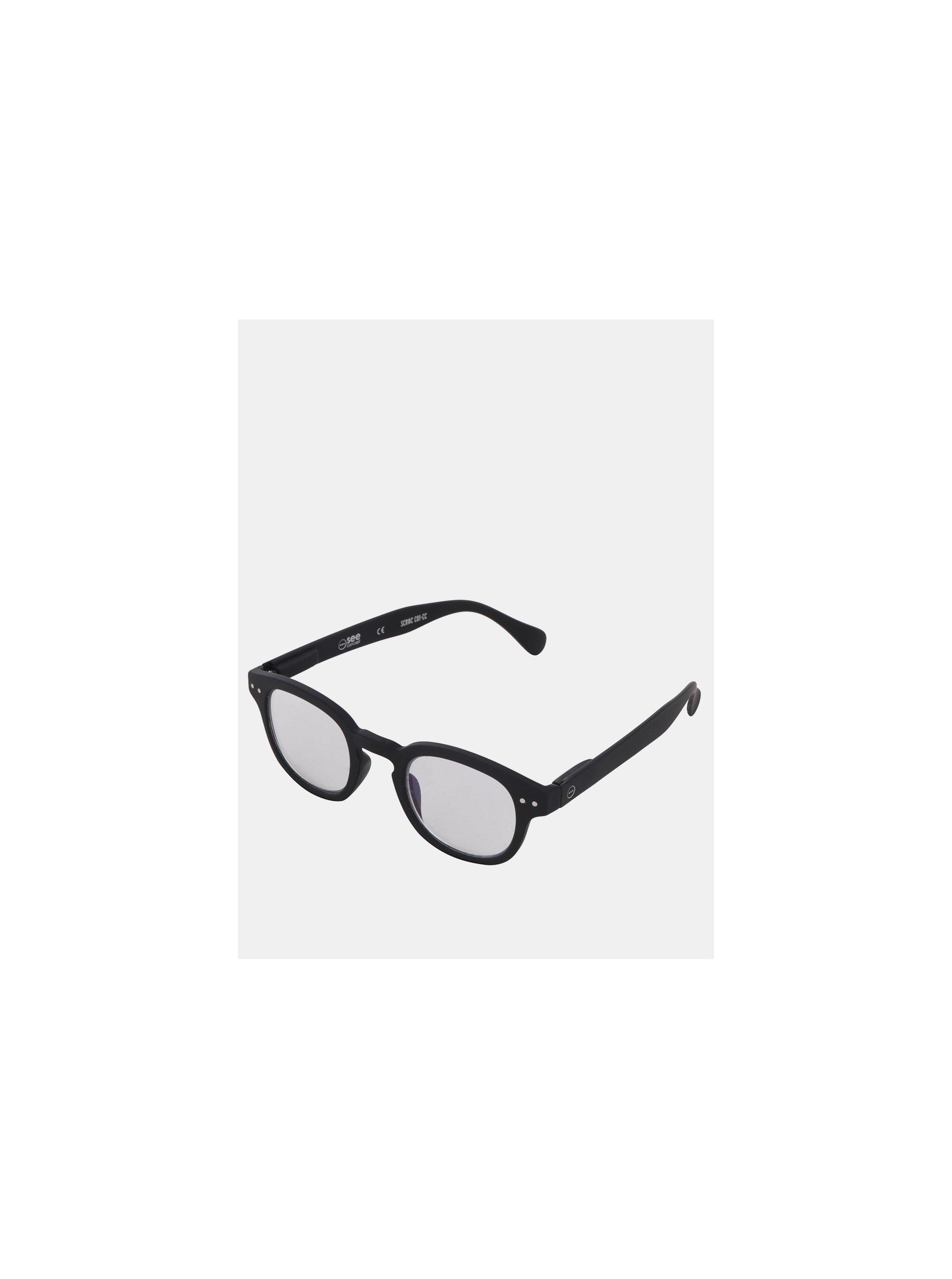 42a1aad0d Černé ochranné brýle k PC IZIPIZI #C