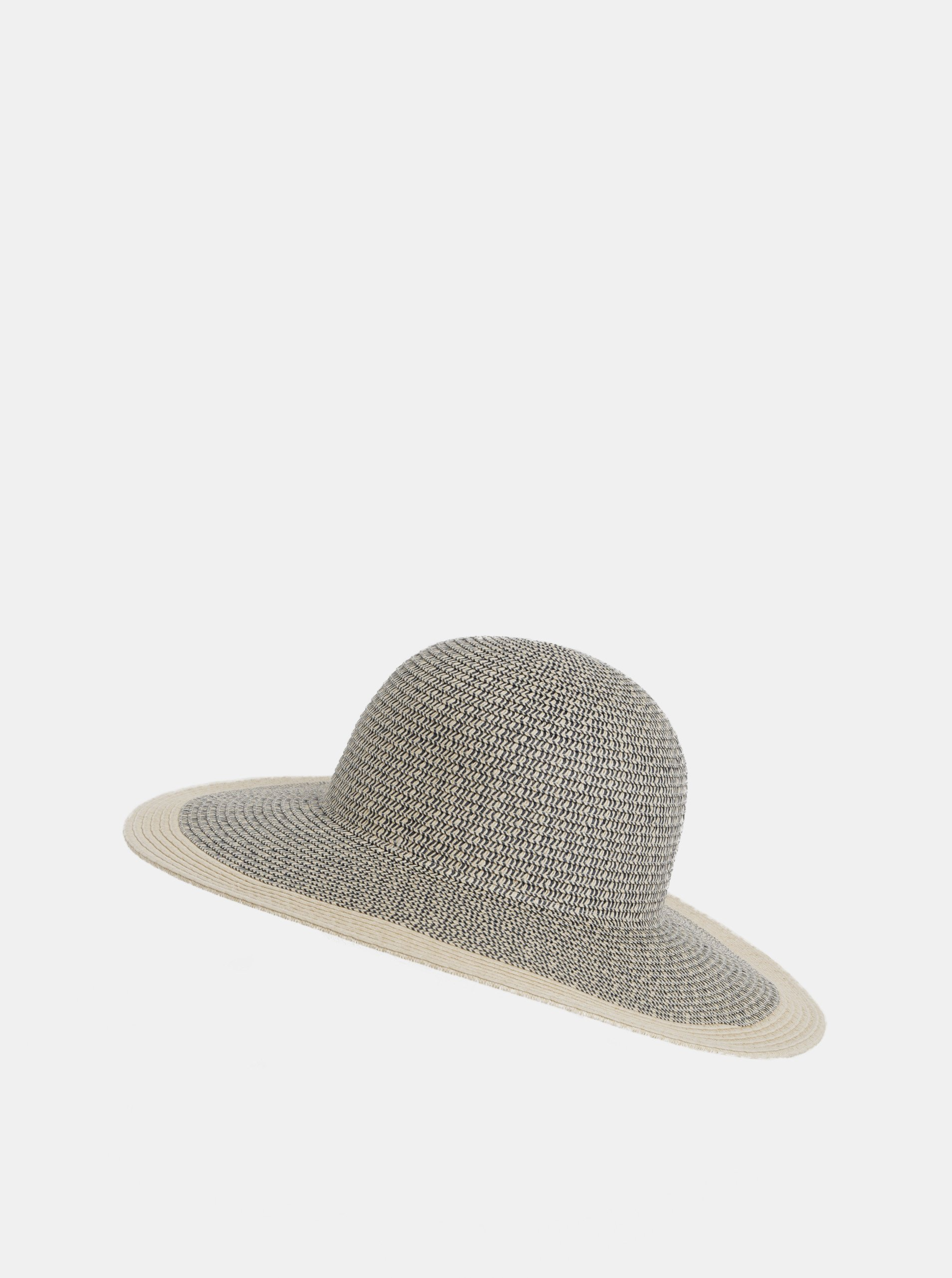 Šedo-béžový dámský žíhaný klobouk Tom Joule Myla