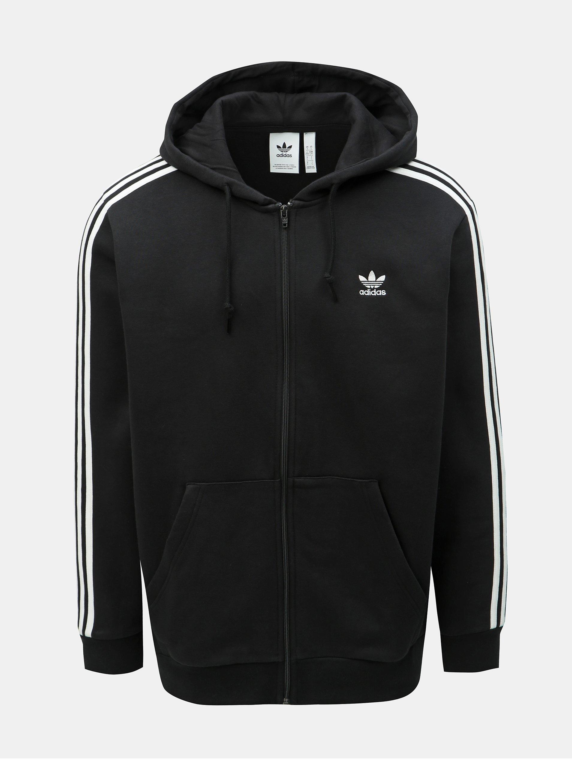Čierna pánska mikina adidas Originals