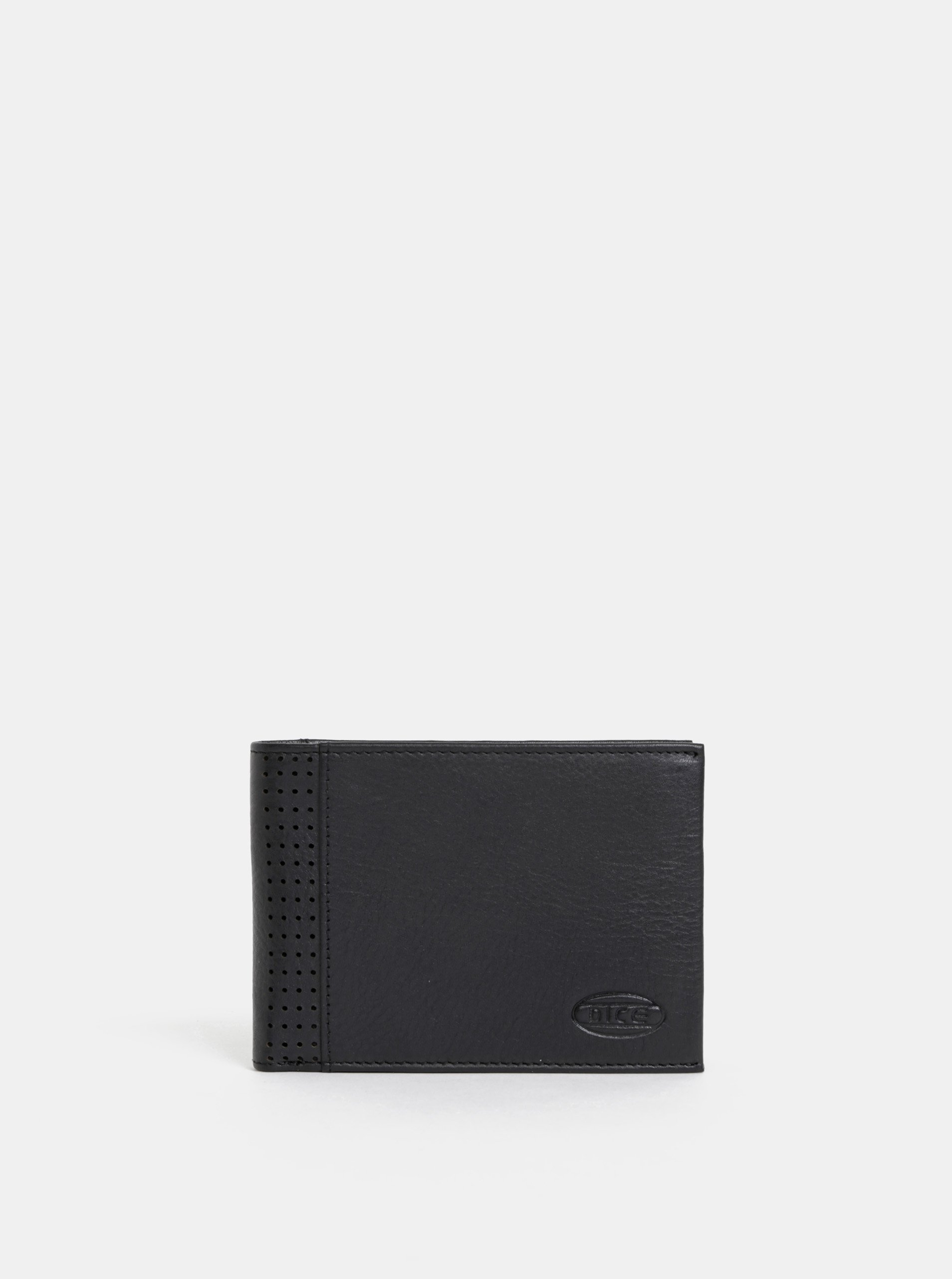 Čierna pánska kožená peňaženka Dice Hayley