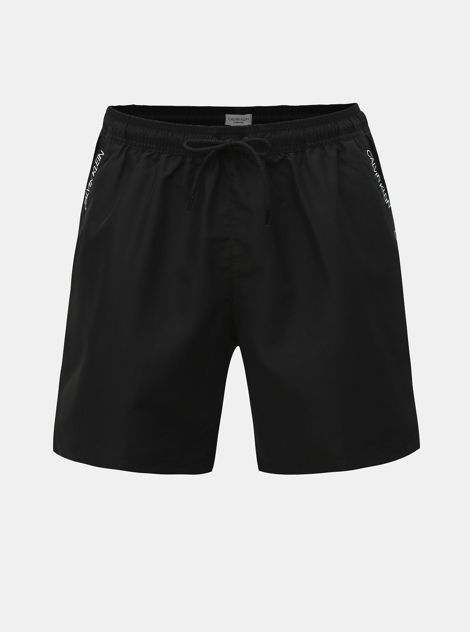 aa67f40dd0 Černé pánské plavky Calvin Klein Underwear