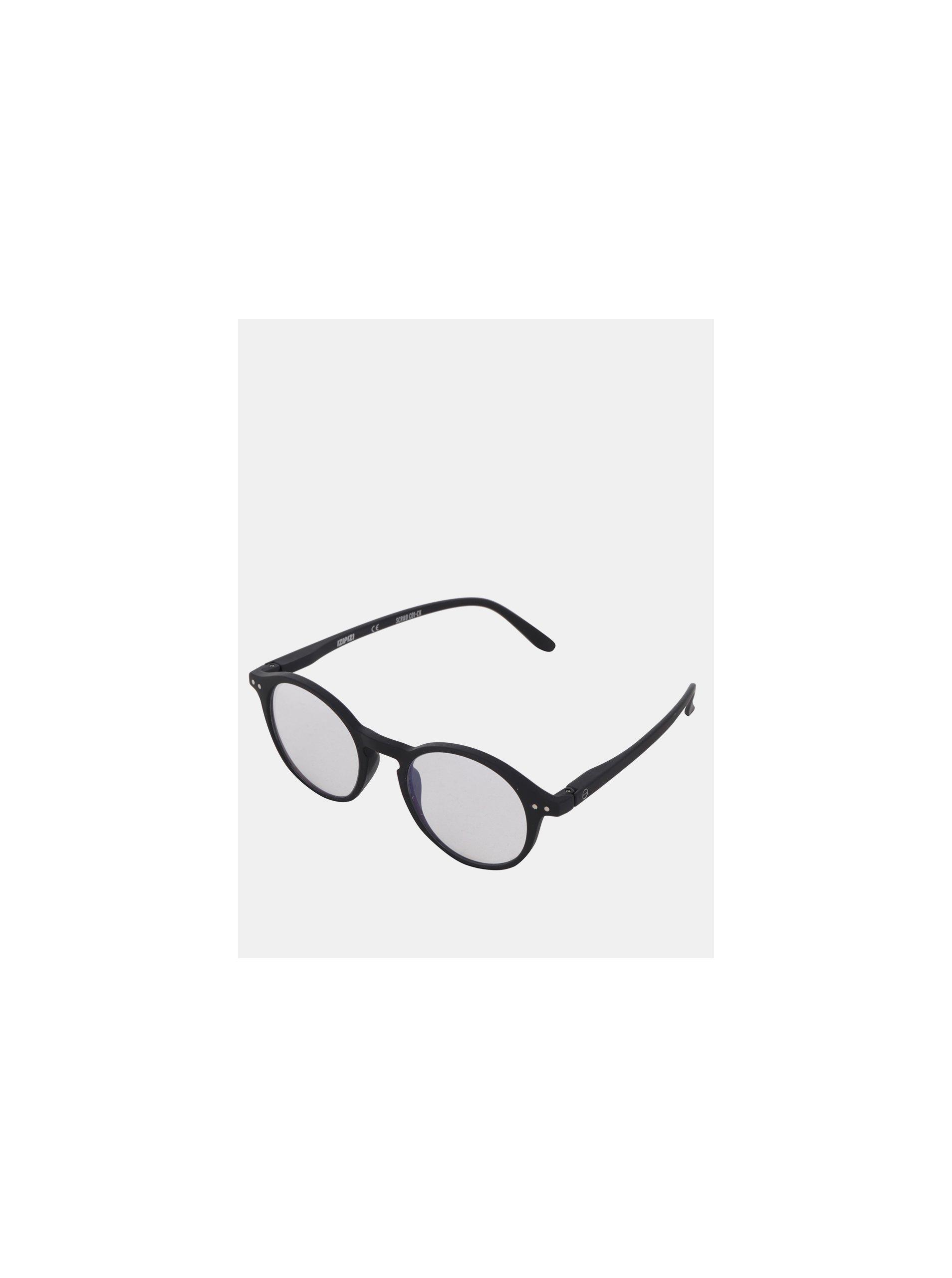 Čierne ochranné okuliare k PC IZIPIZI #D