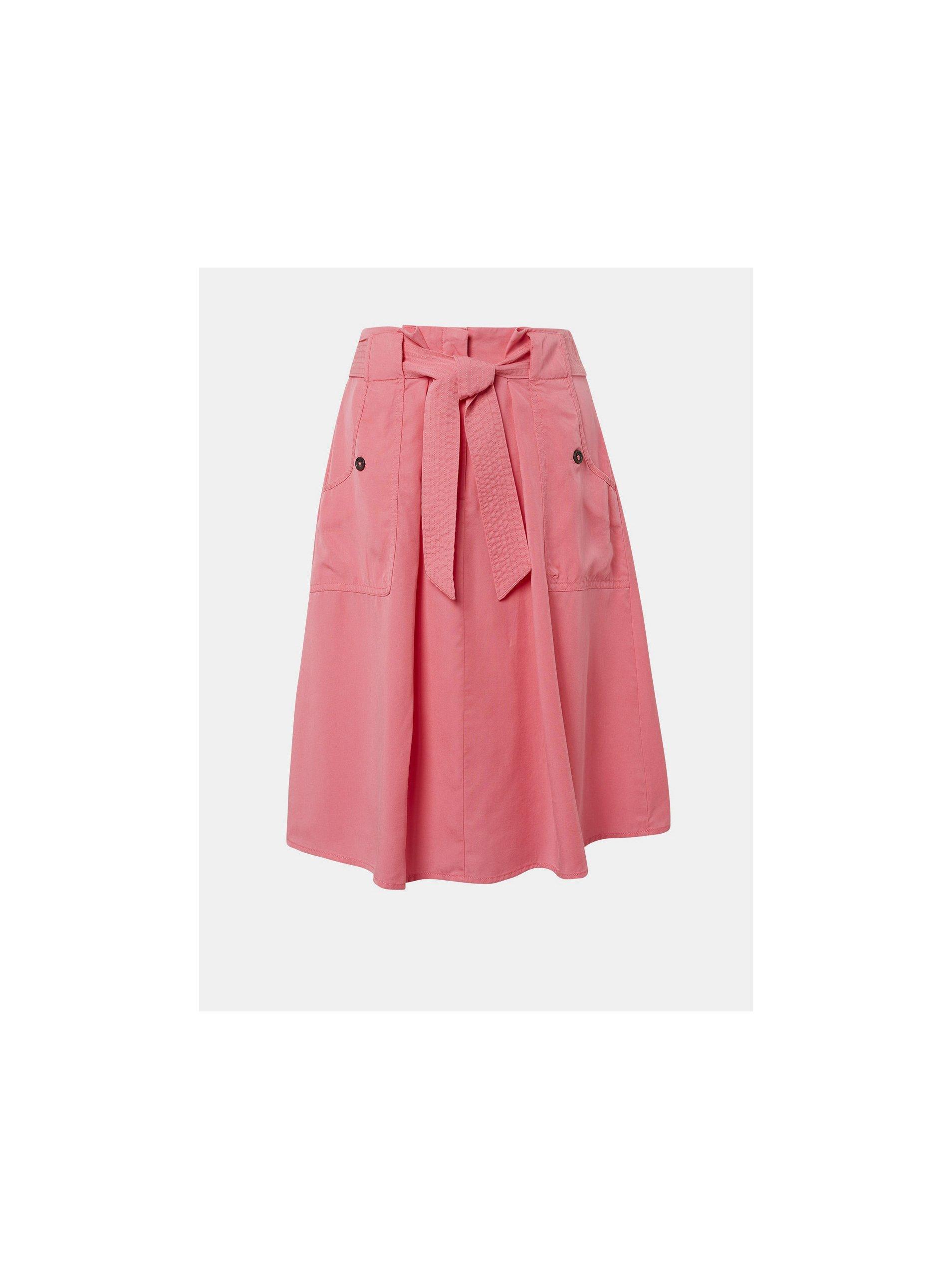 e48d18945c7a Růžová sukně Tom Tailor