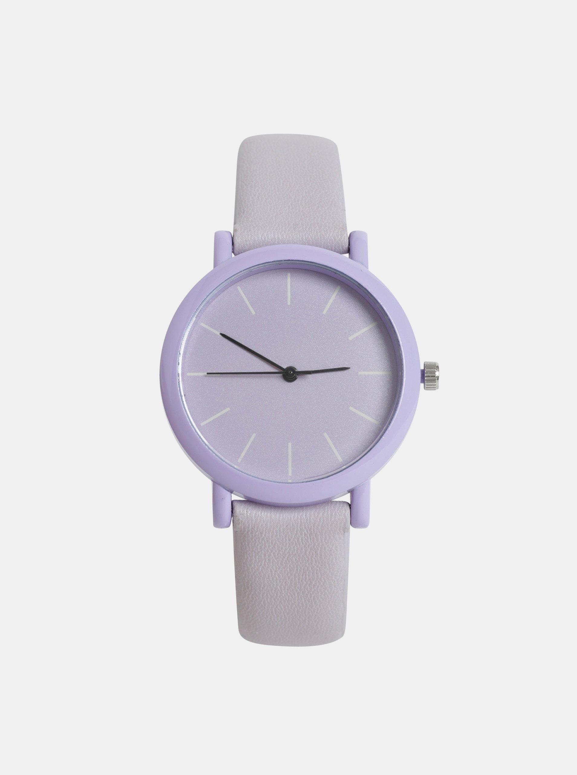 51c2d8155 Dámské hodinky se světle fialovým páskem Haily´s Sammy