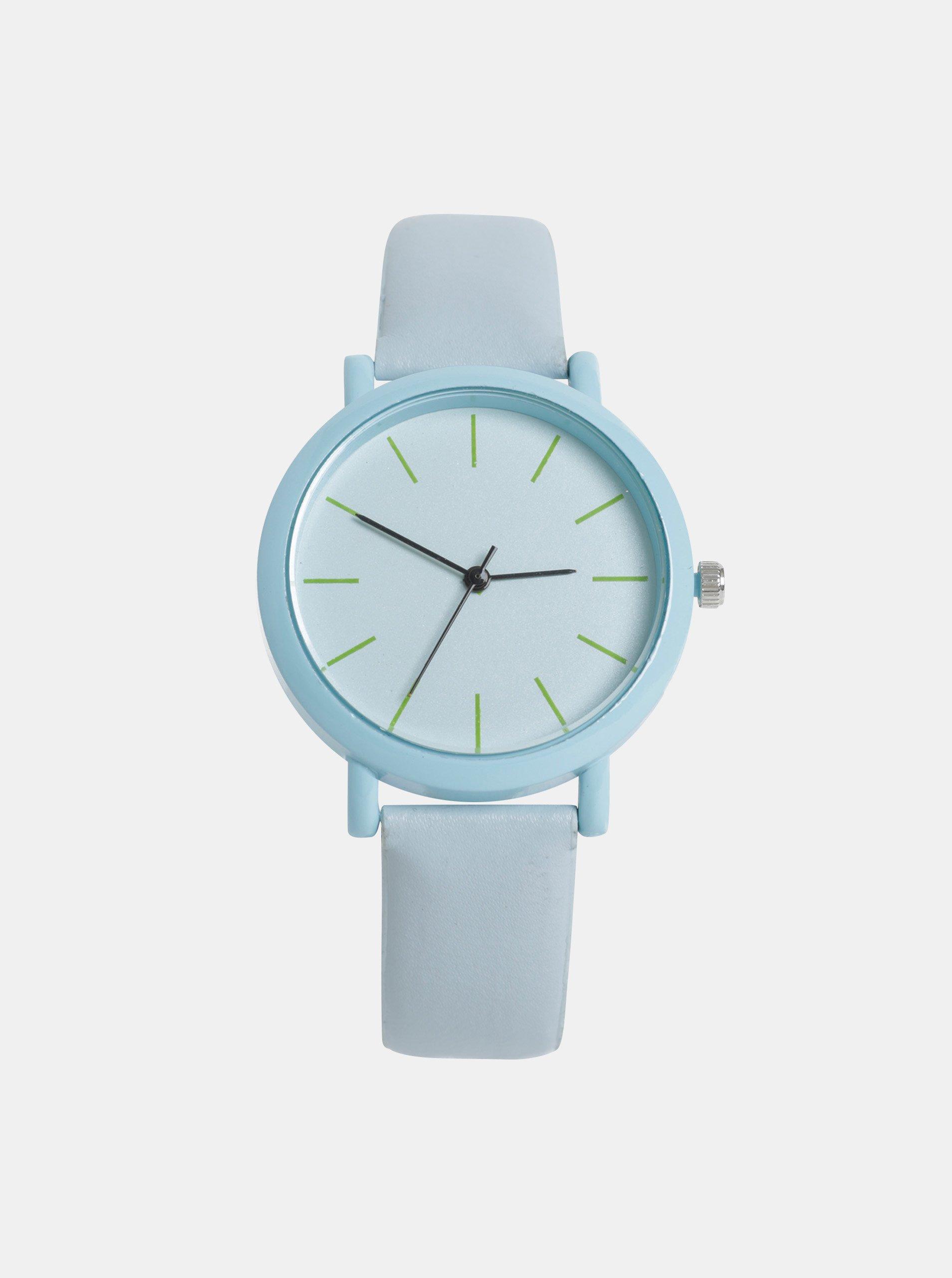 Dámské hodinky se světle modrým páskem Haily´s Sammy