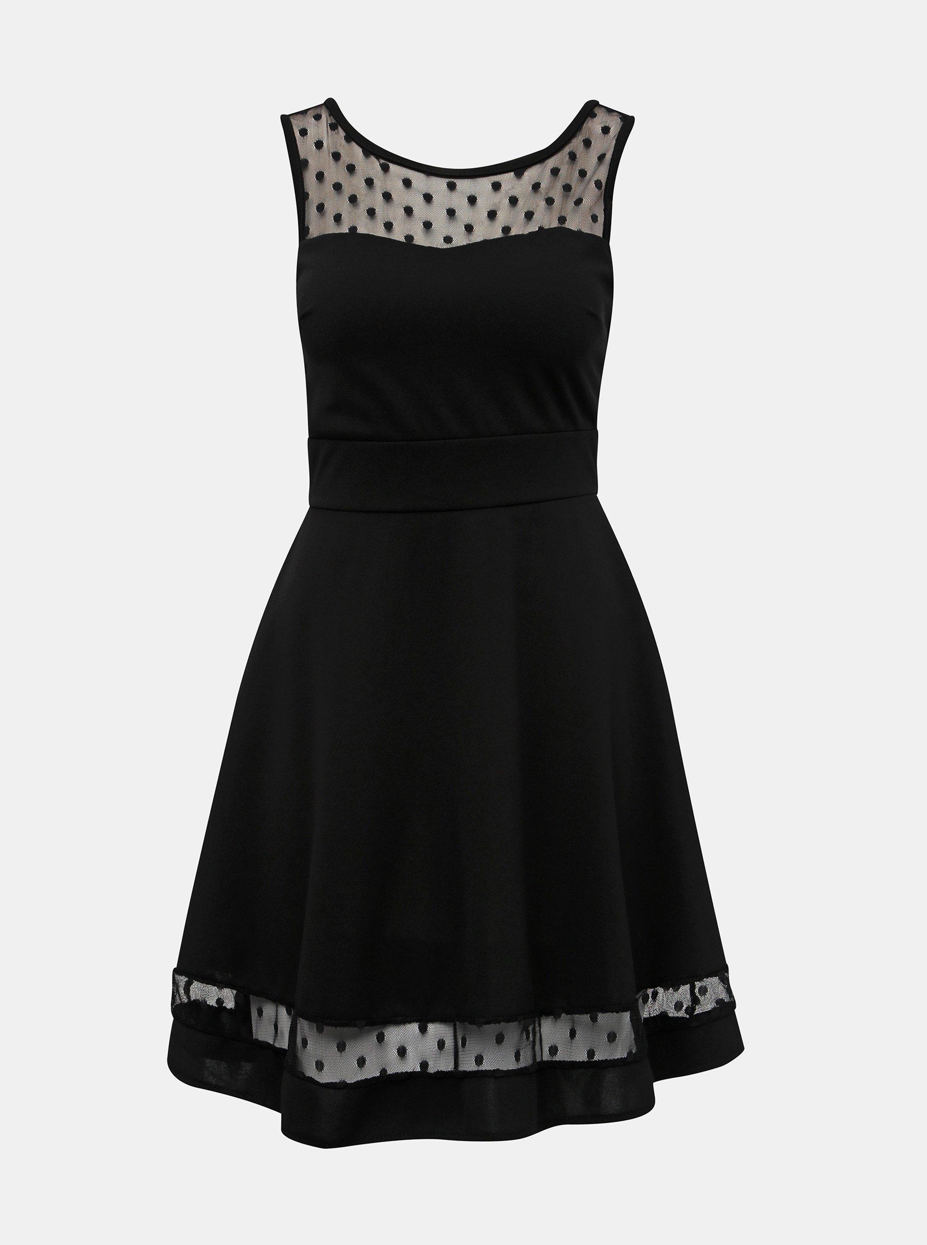 Čierne šaty Haily´s Dina
