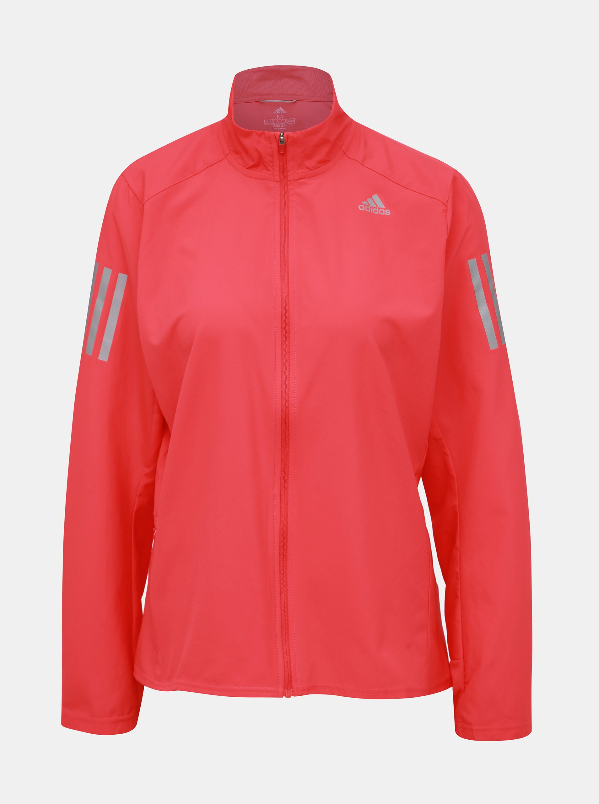 Rúžová dámska vodeodpudivá bunda adidas Performance